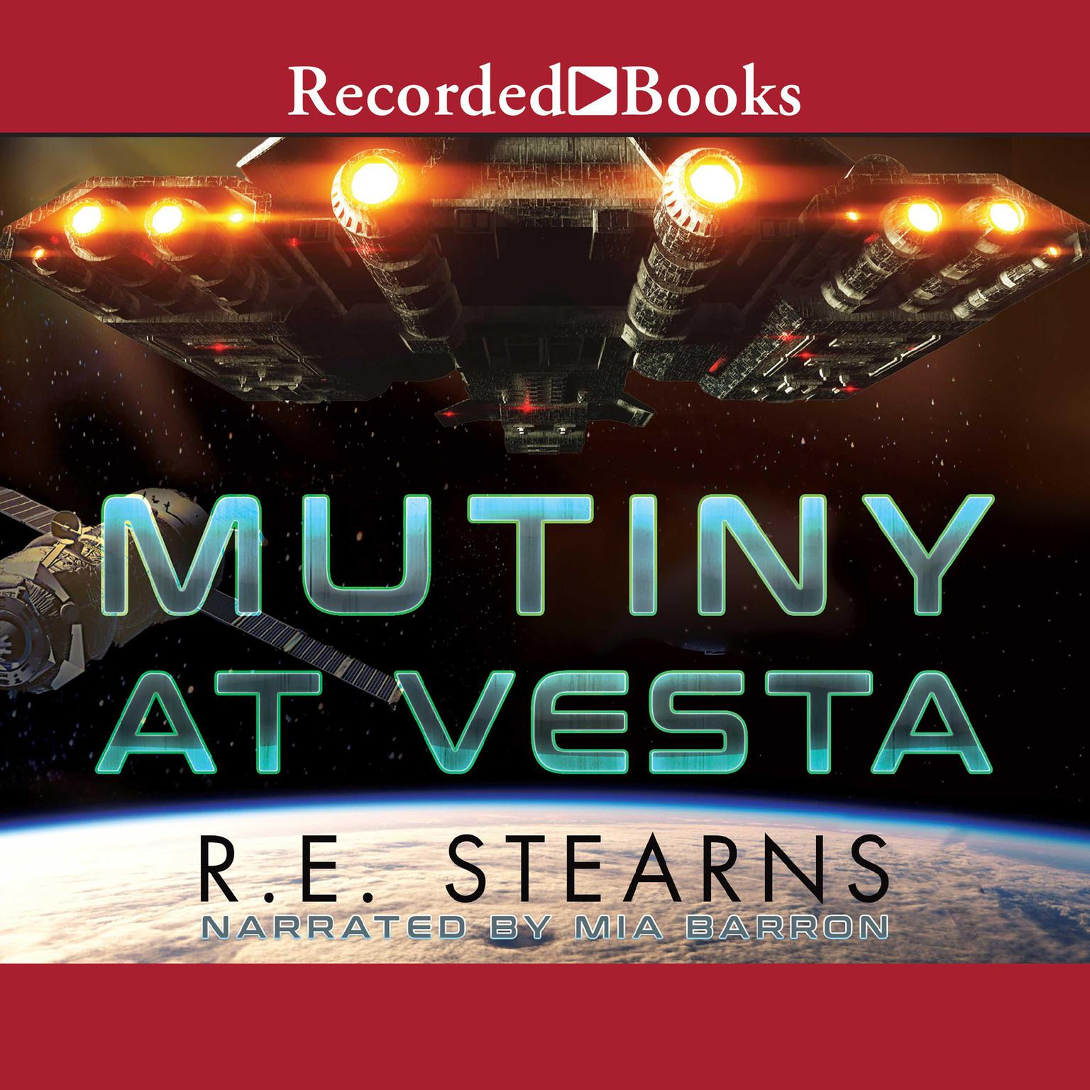 Printable Mutiny at Vesta Audiobook Cover Art