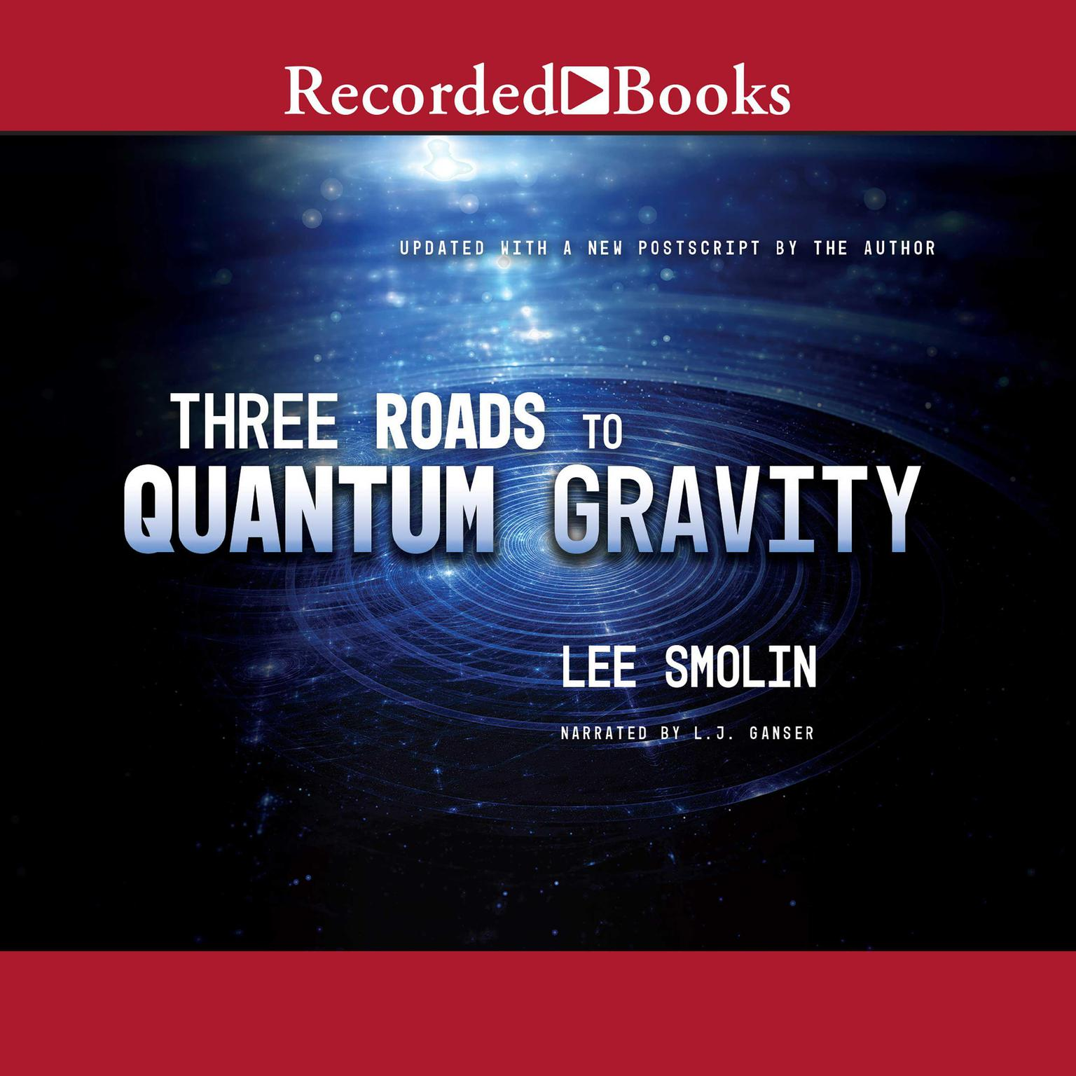 Printable Three Roads to Quantum Gravity Audiobook Cover Art