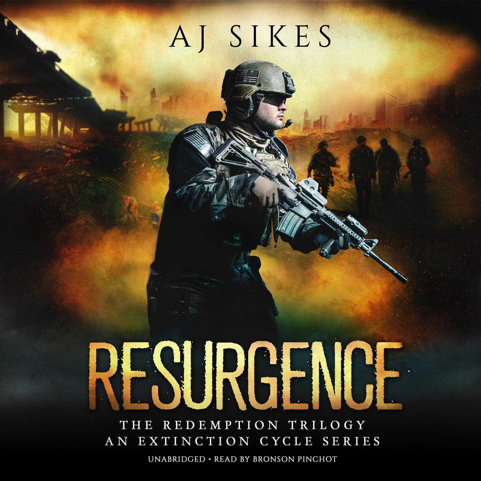 Printable Resurgence: An Extinction Cycle Story Audiobook Cover Art