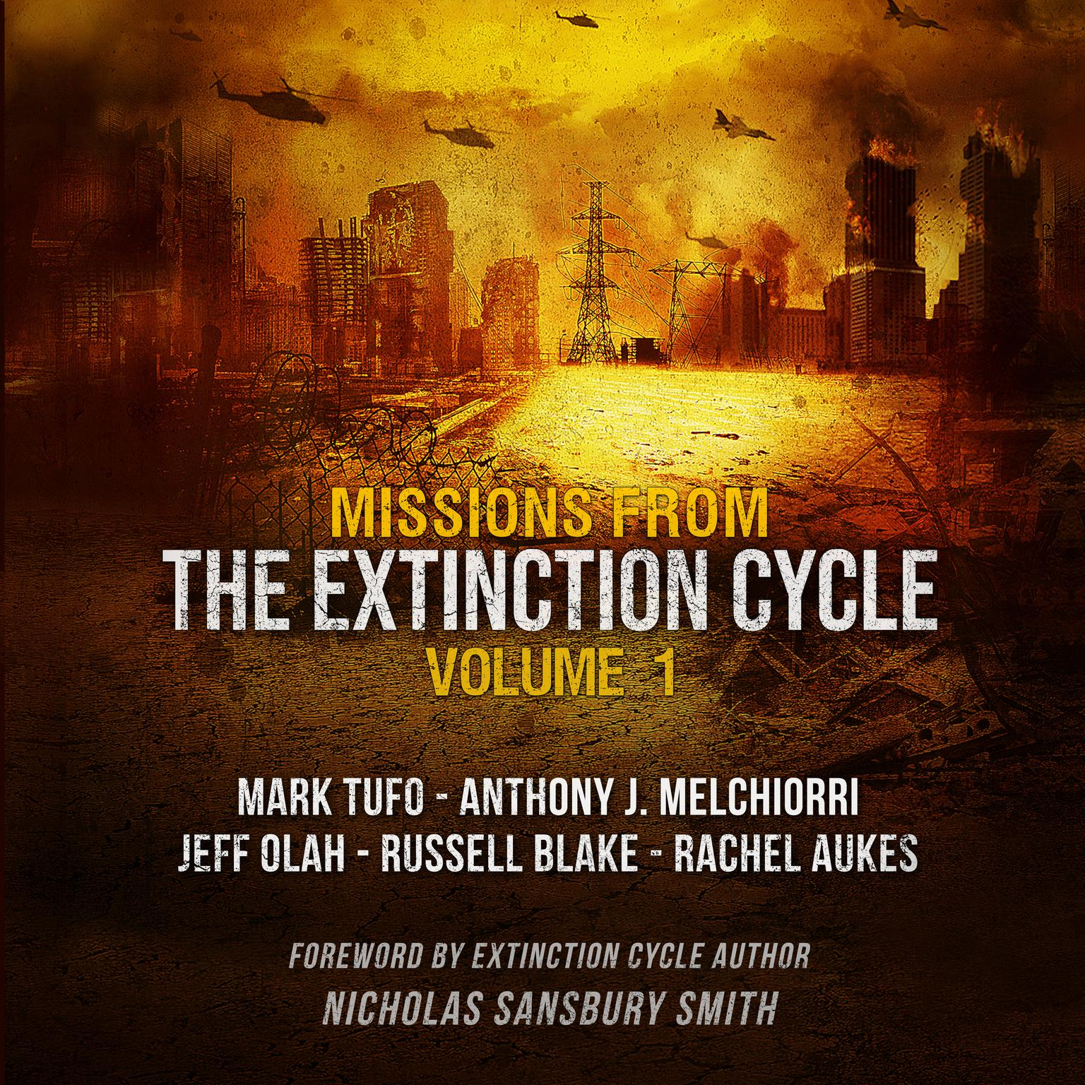 Printable Missions from the Extinction Cycle, Vol. 1 Audiobook Cover Art