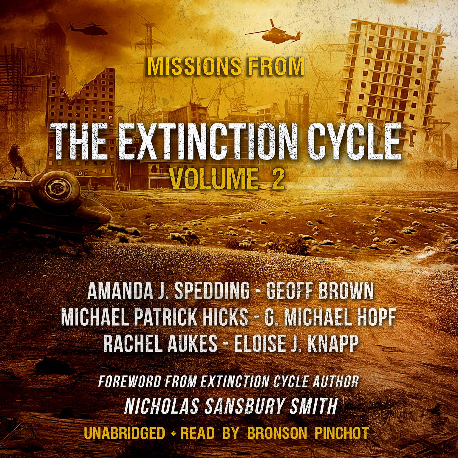 Printable Missions from the Extinction Cycle, Vol. 2 Audiobook Cover Art