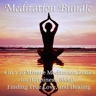 Meditation Bundle: 4 in 1 30 Minute Meditation Books On Happiness, Sleep, Finding True Love, And Healing Audiobook, by Living In Bliss Productions