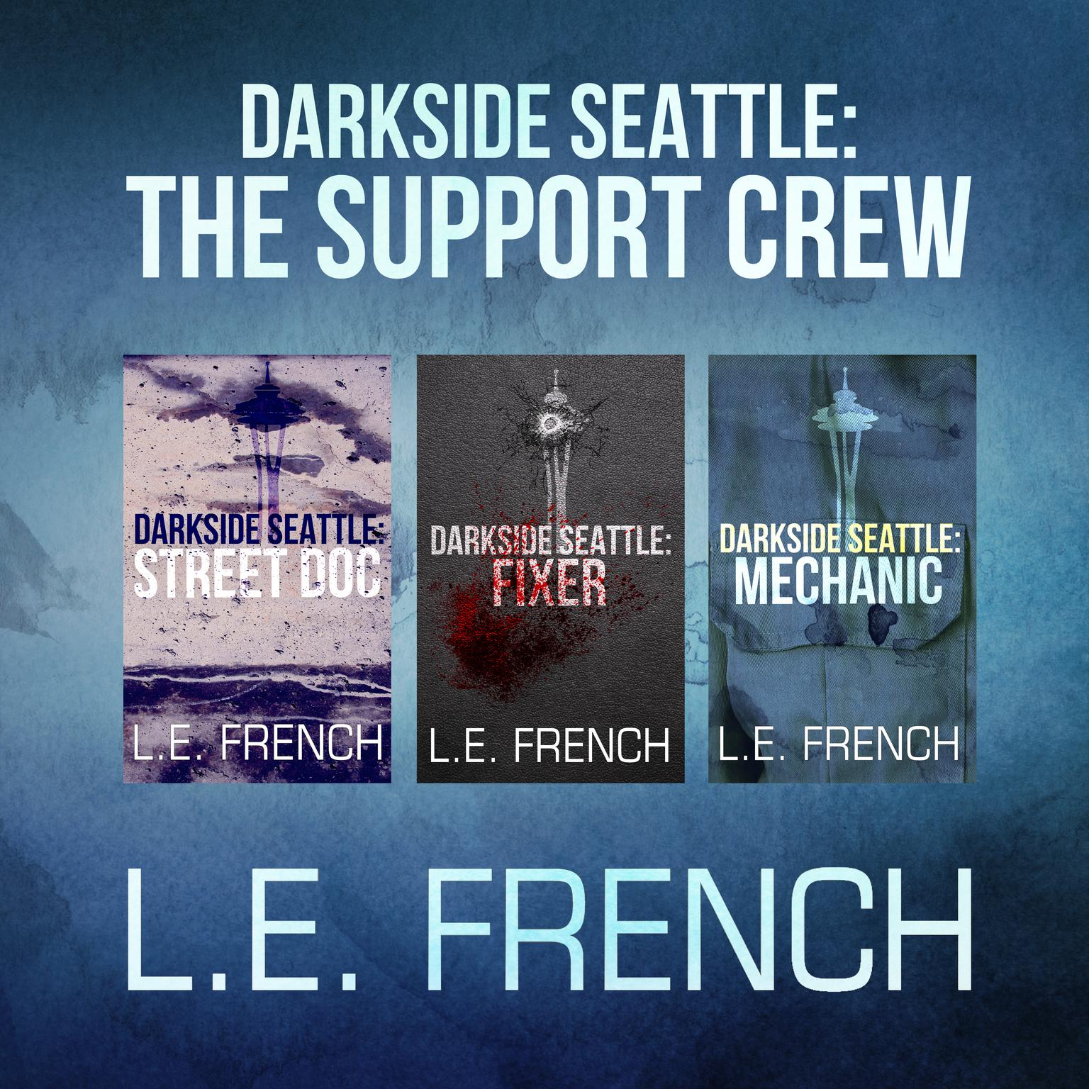 Printable Darkside Seattle: The Support Crew Audiobook Cover Art