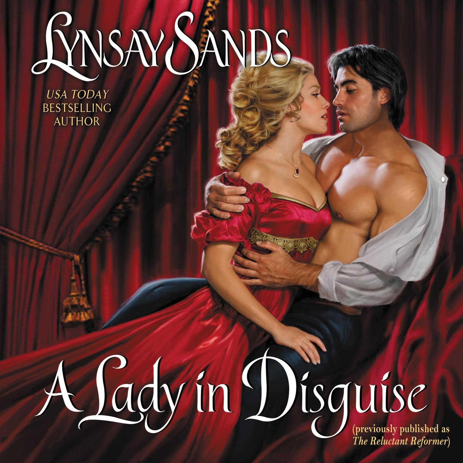 Printable A Lady in Disguise Audiobook Cover Art