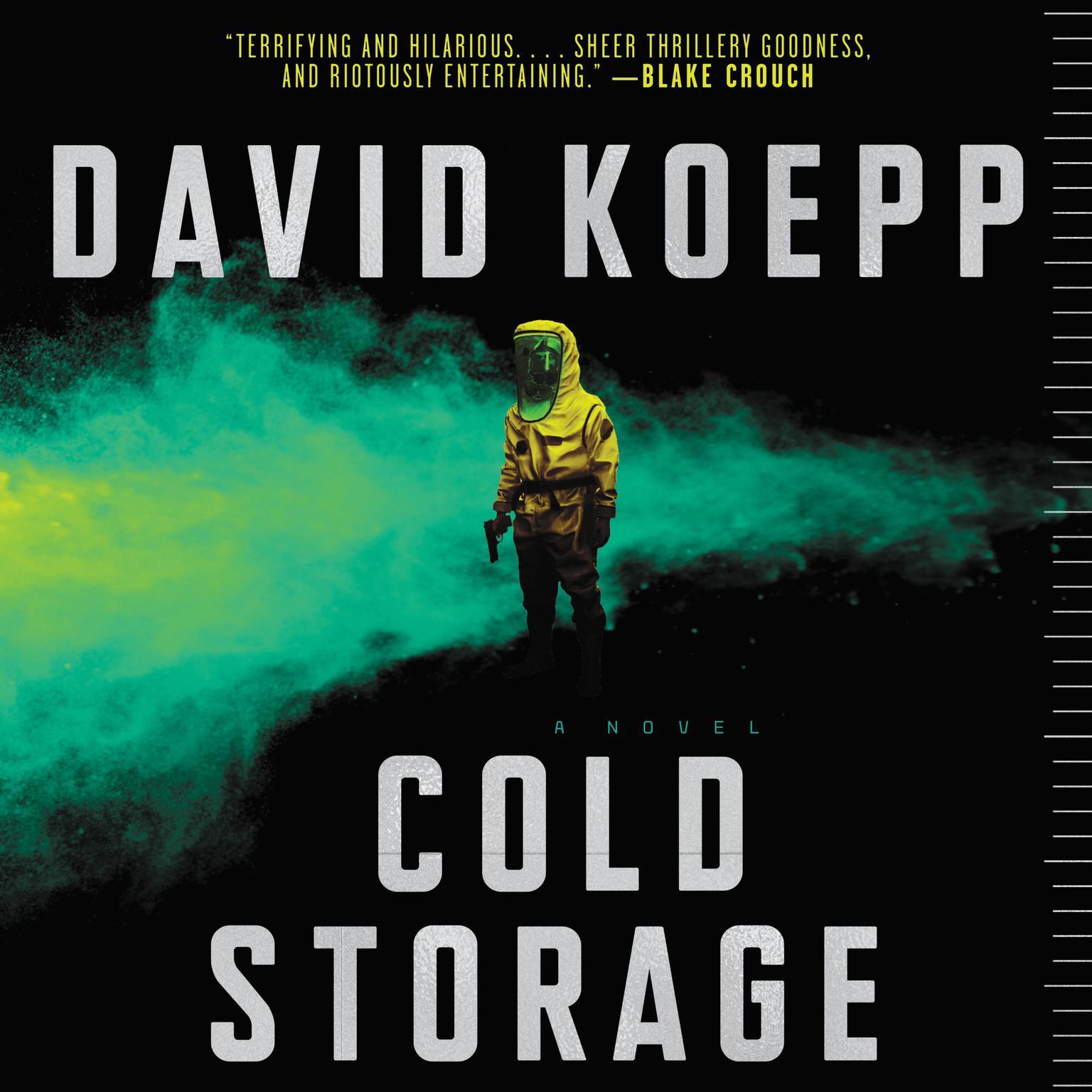 Printable Cold Storage: A Novel Audiobook Cover Art