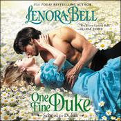 One Fine Duke: School for Dukes Audiobook, by Lenora Bell