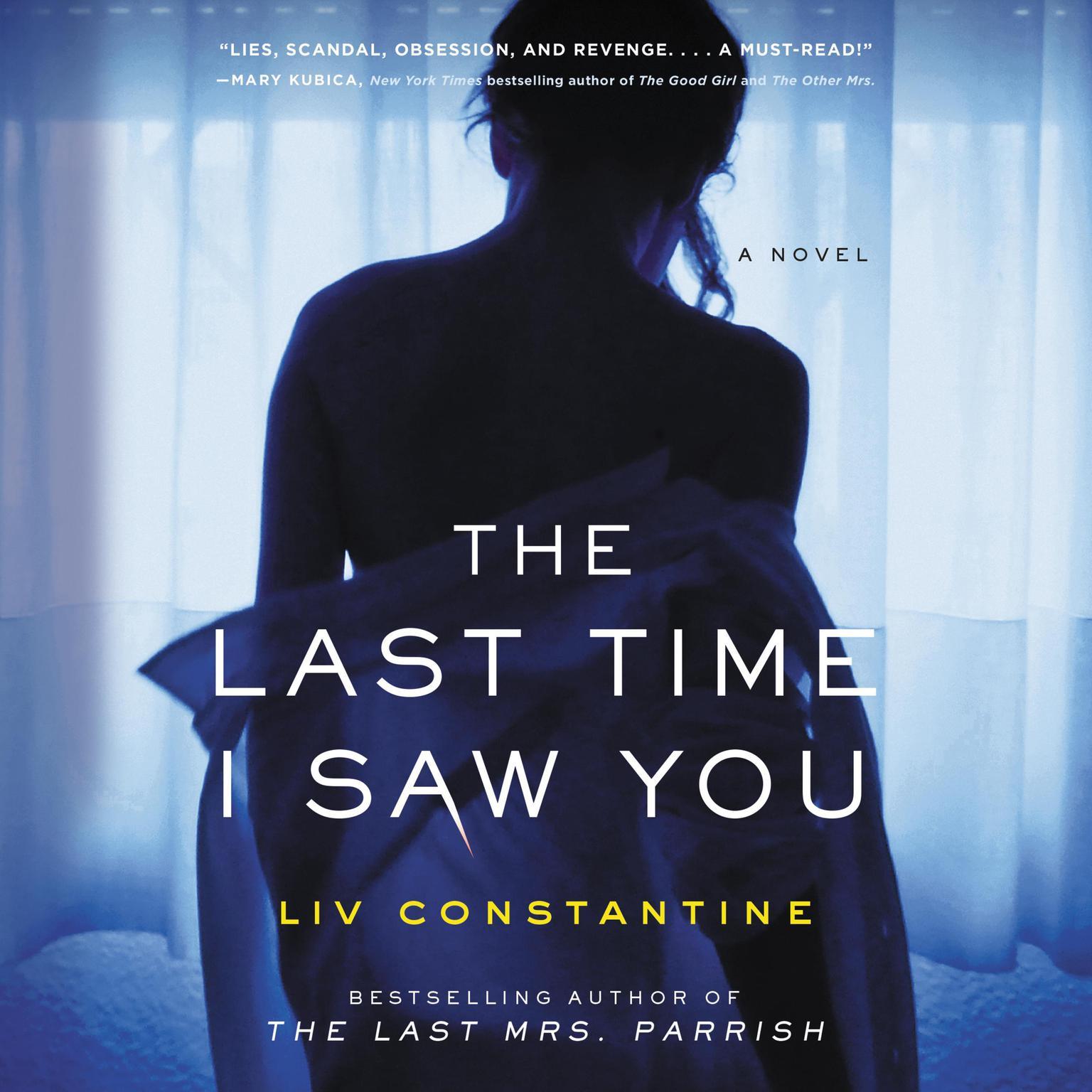 Printable The Last Time I Saw You: A Novel Audiobook Cover Art