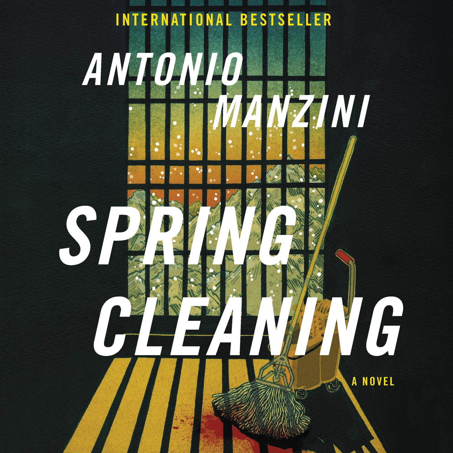 Printable Spring Cleaning: A Novel Audiobook Cover Art