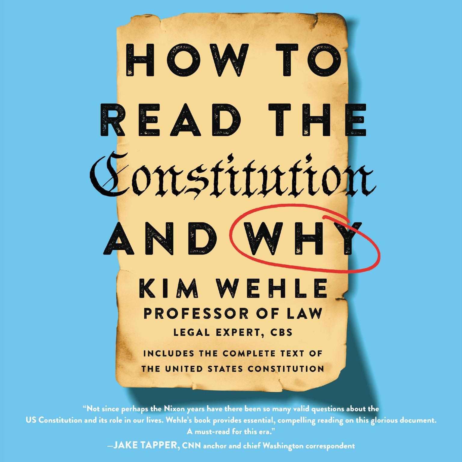 Printable How to Read the Constitution--and Why Audiobook Cover Art