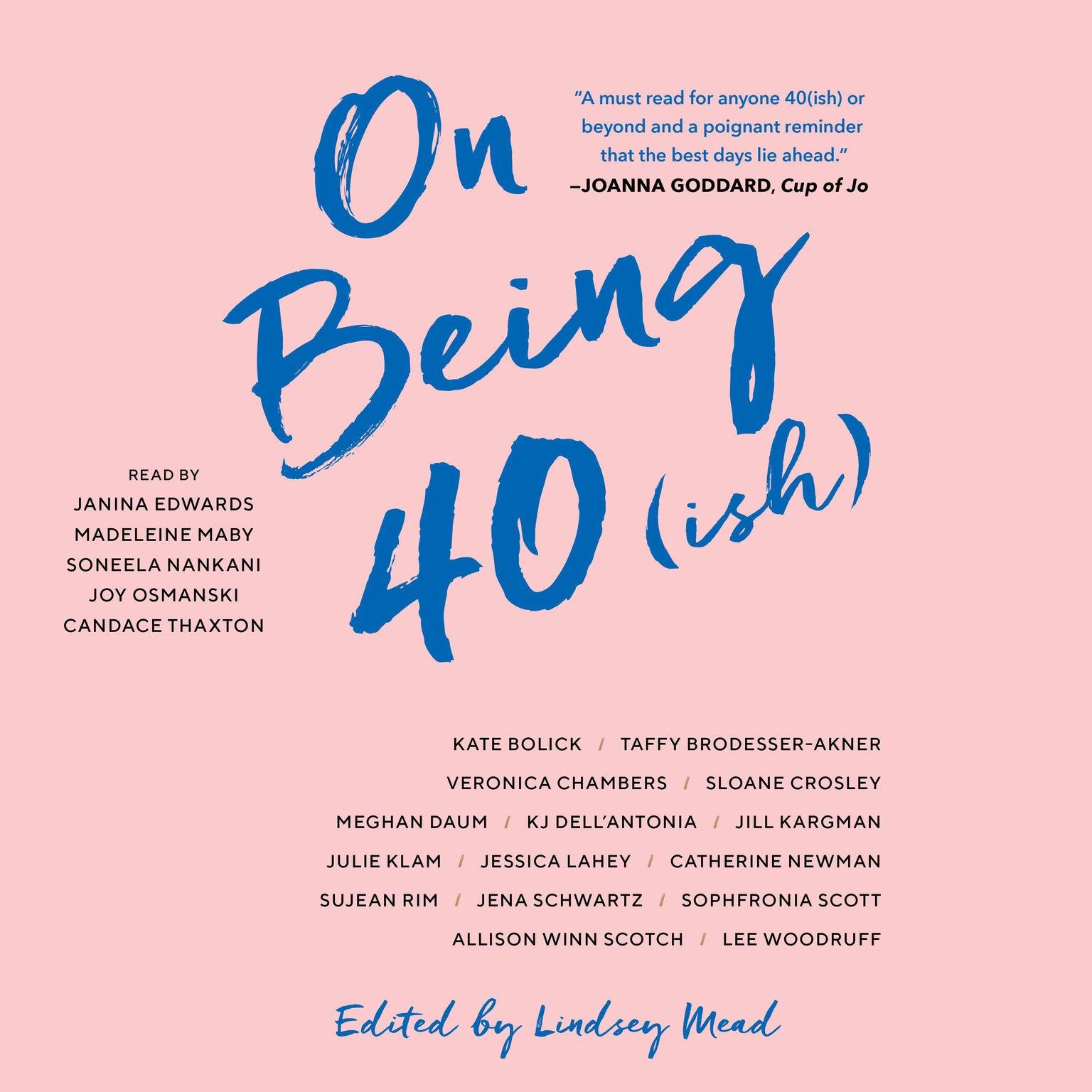 Printable On Being 40(ish) Audiobook Cover Art