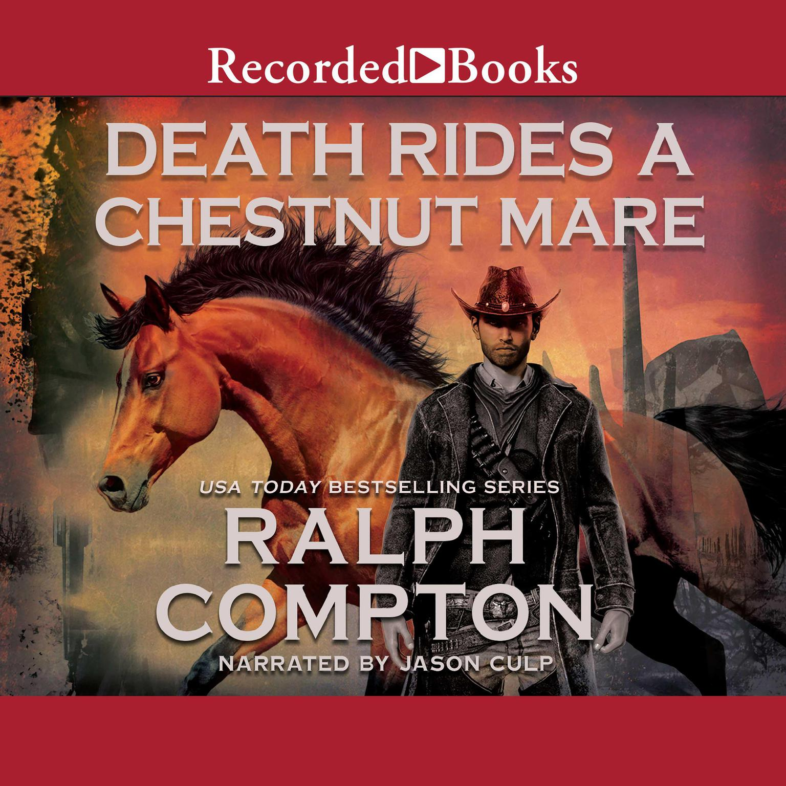 Printable Death Rides A Chestnut Mare Audiobook Cover Art