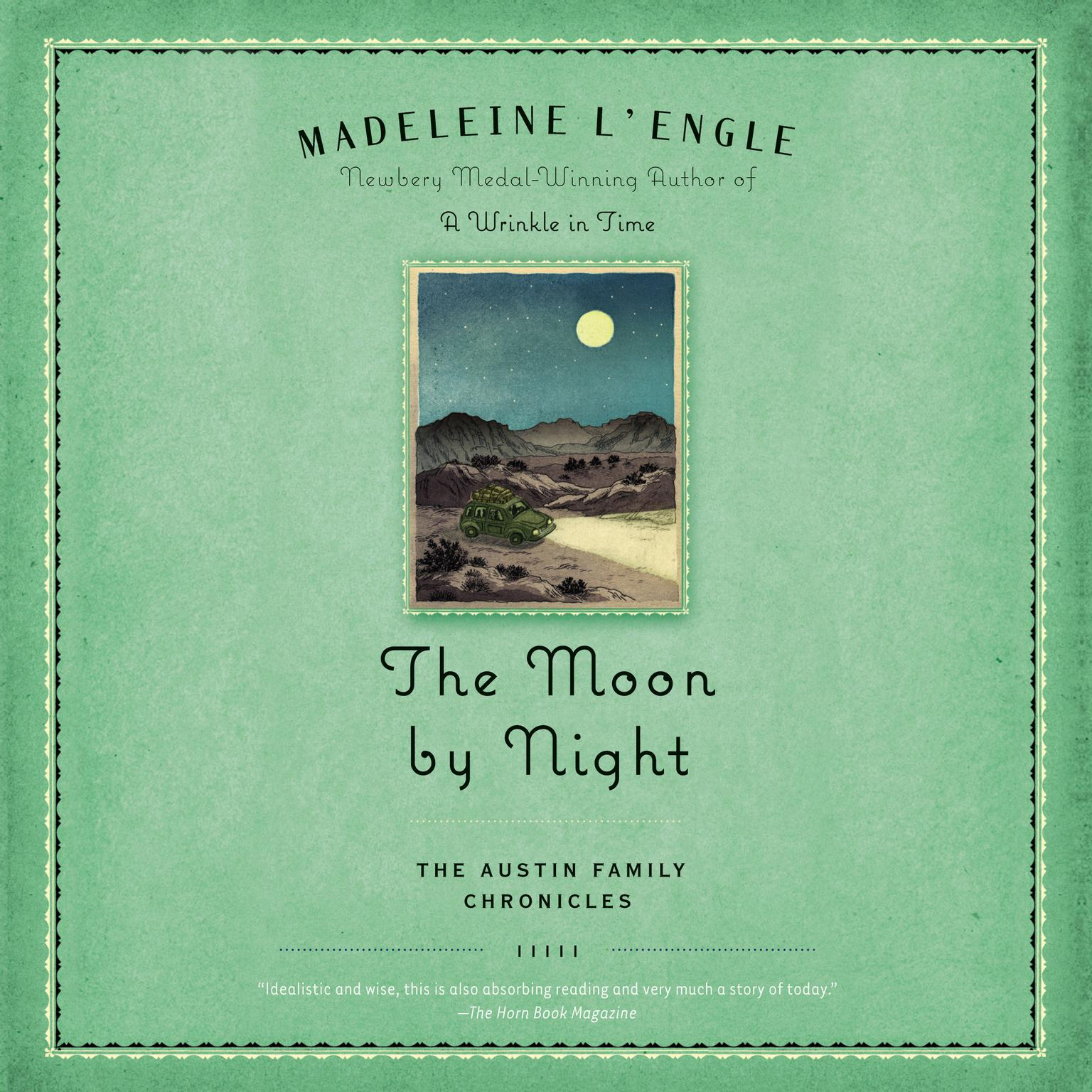 Printable The Moon by Night: Book Two of The Austin Family Chronicles Audiobook Cover Art