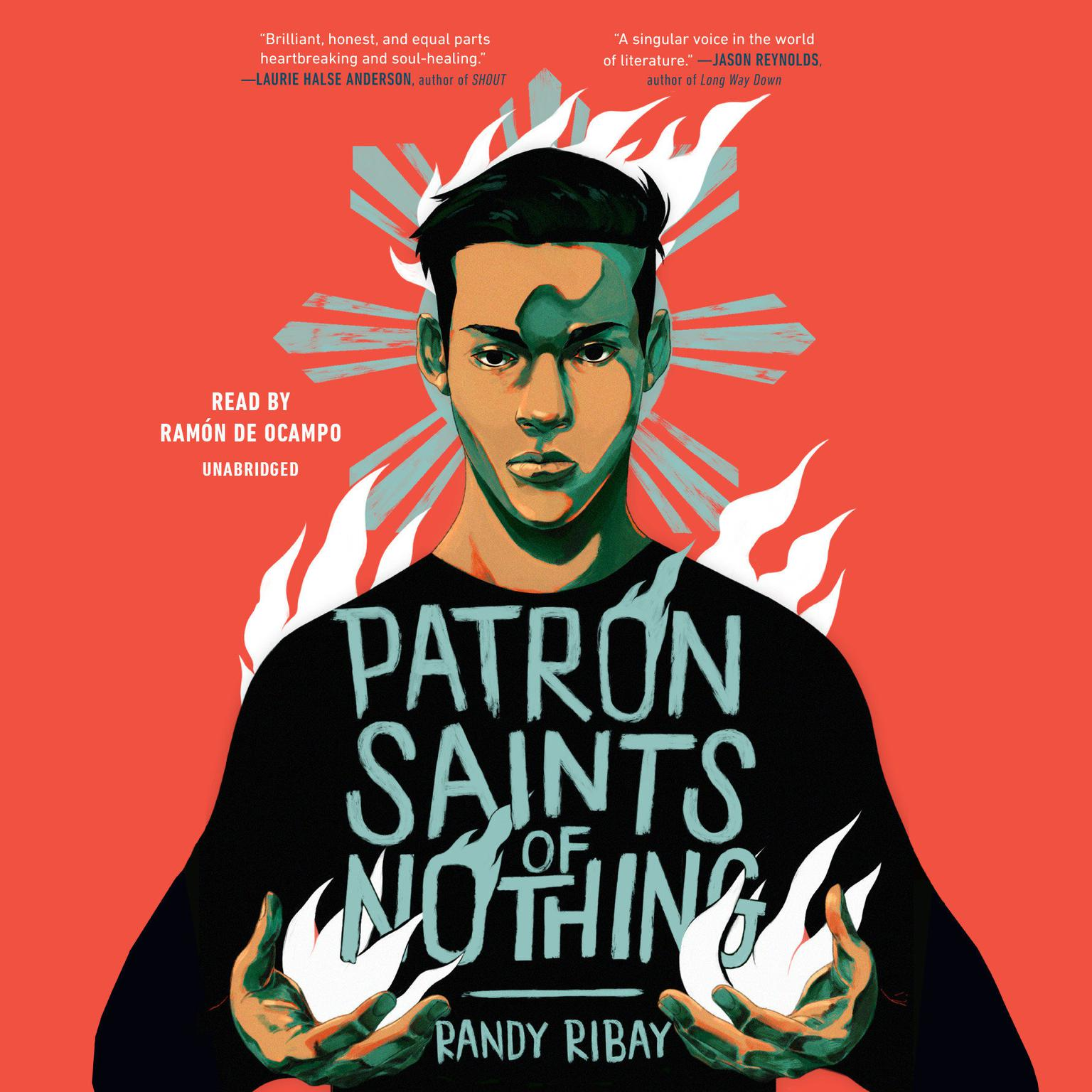 Printable Patron Saints of Nothing Audiobook Cover Art