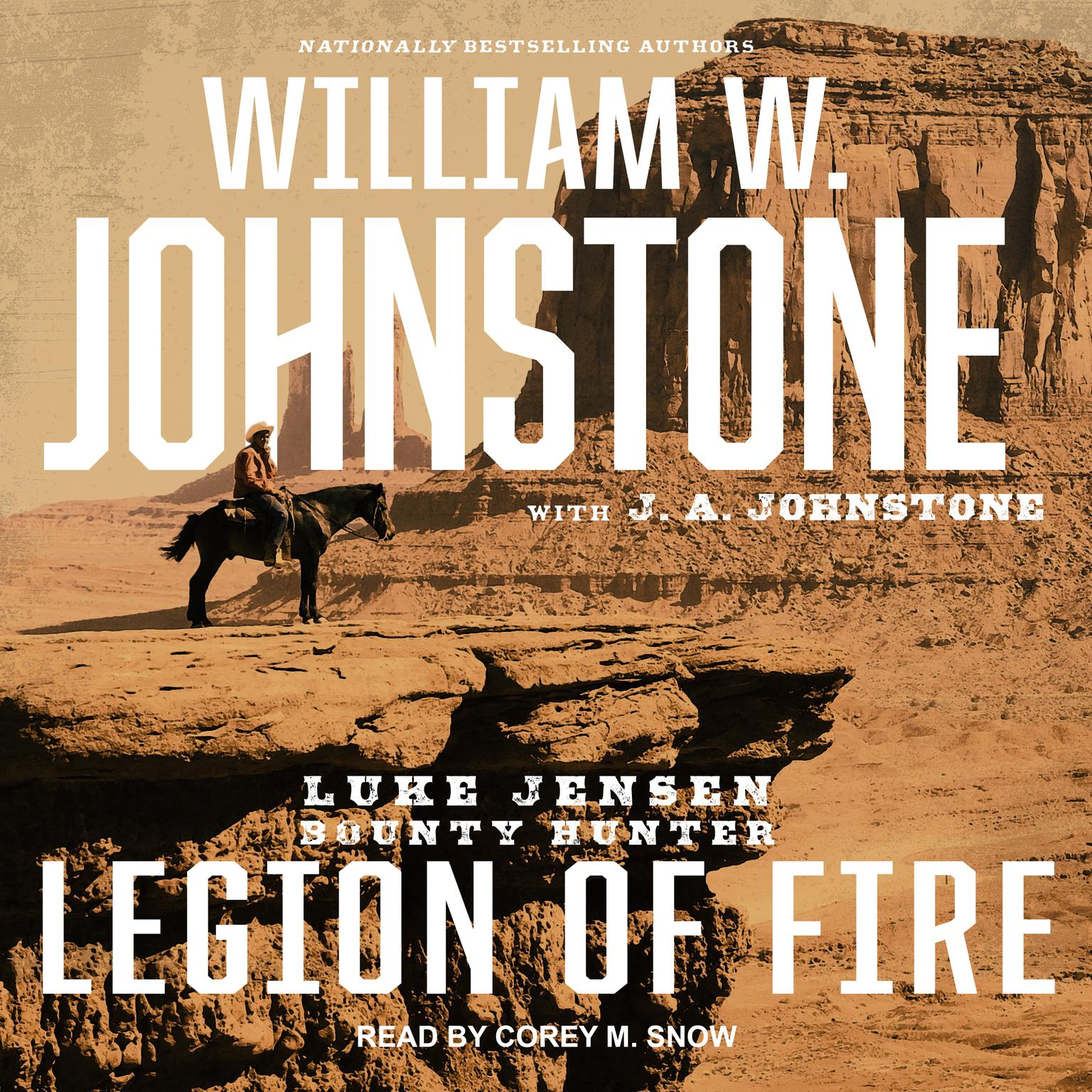 Printable Legion of Fire Audiobook Cover Art