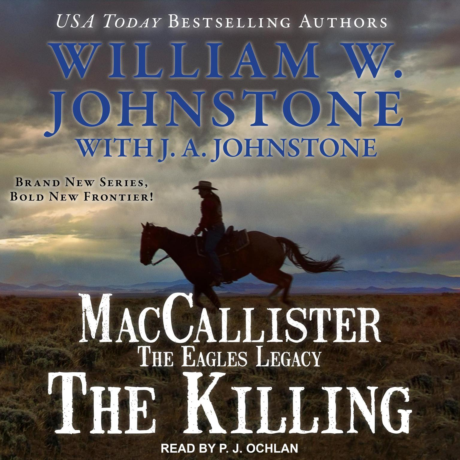 Printable MacCallister: The Eagles Legacy: The Killing Audiobook Cover Art