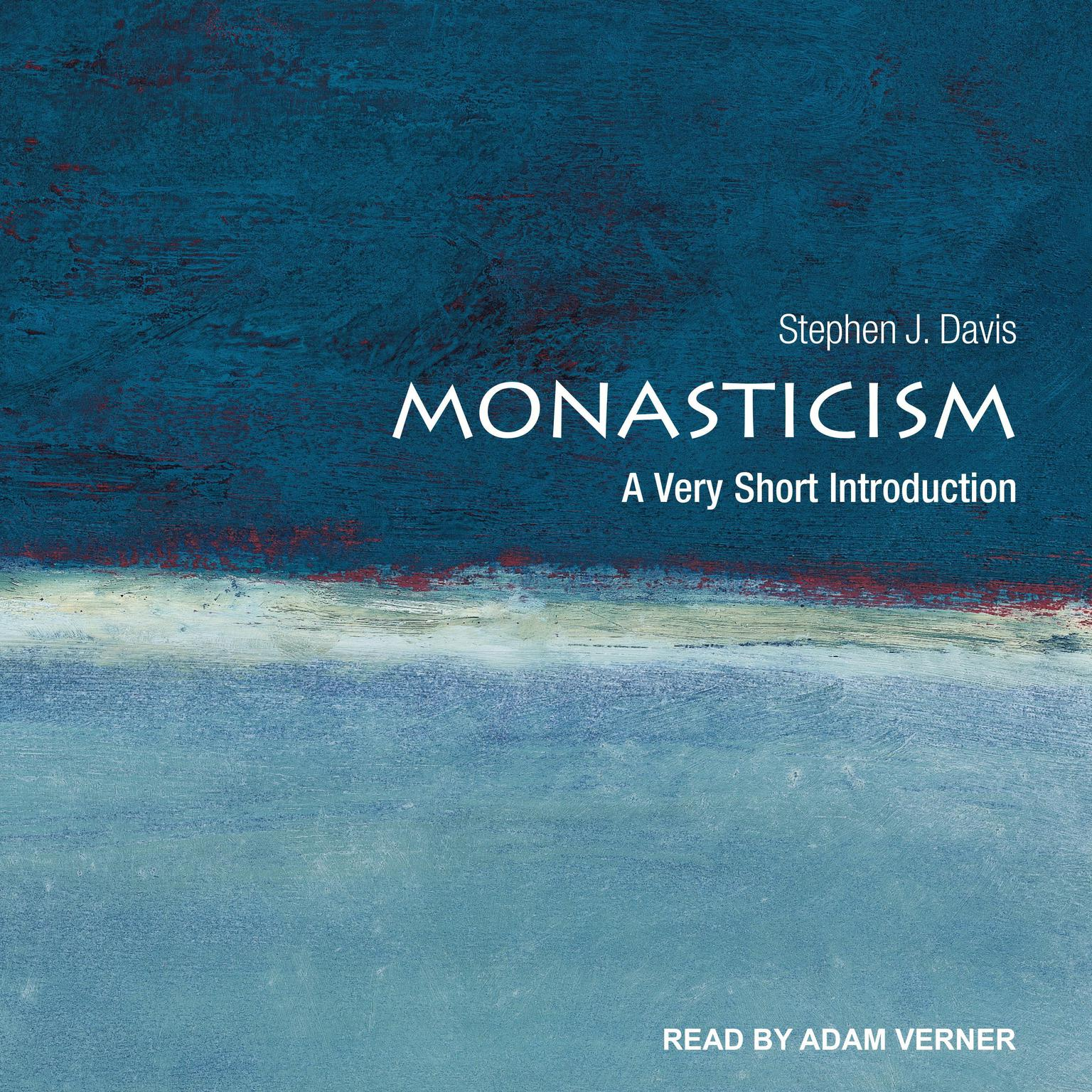 Printable Monasticism: A Very Short Introduction Audiobook Cover Art