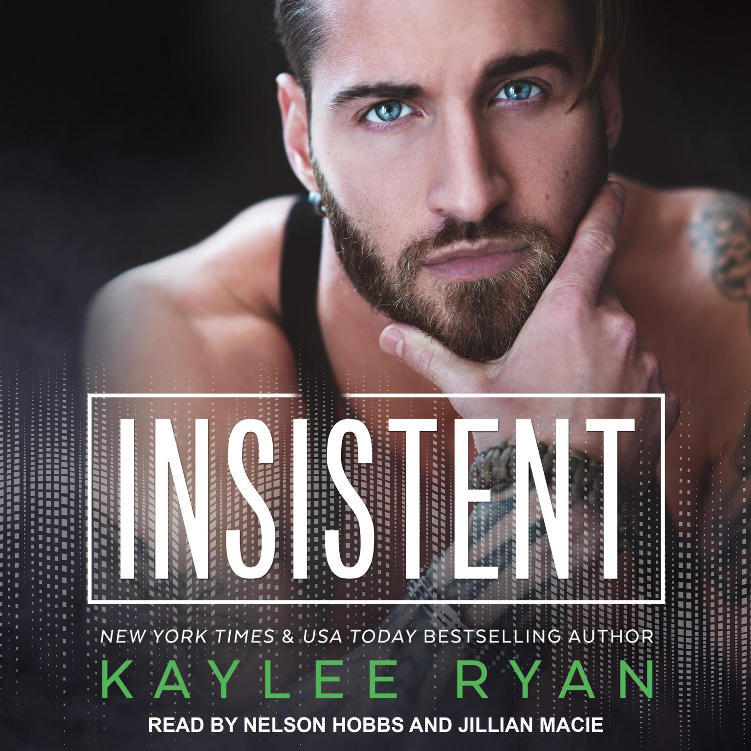 Printable Insistent Audiobook Cover Art