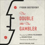 The Double and The Gambler Audiobook, by Fyodor Dostoevsky