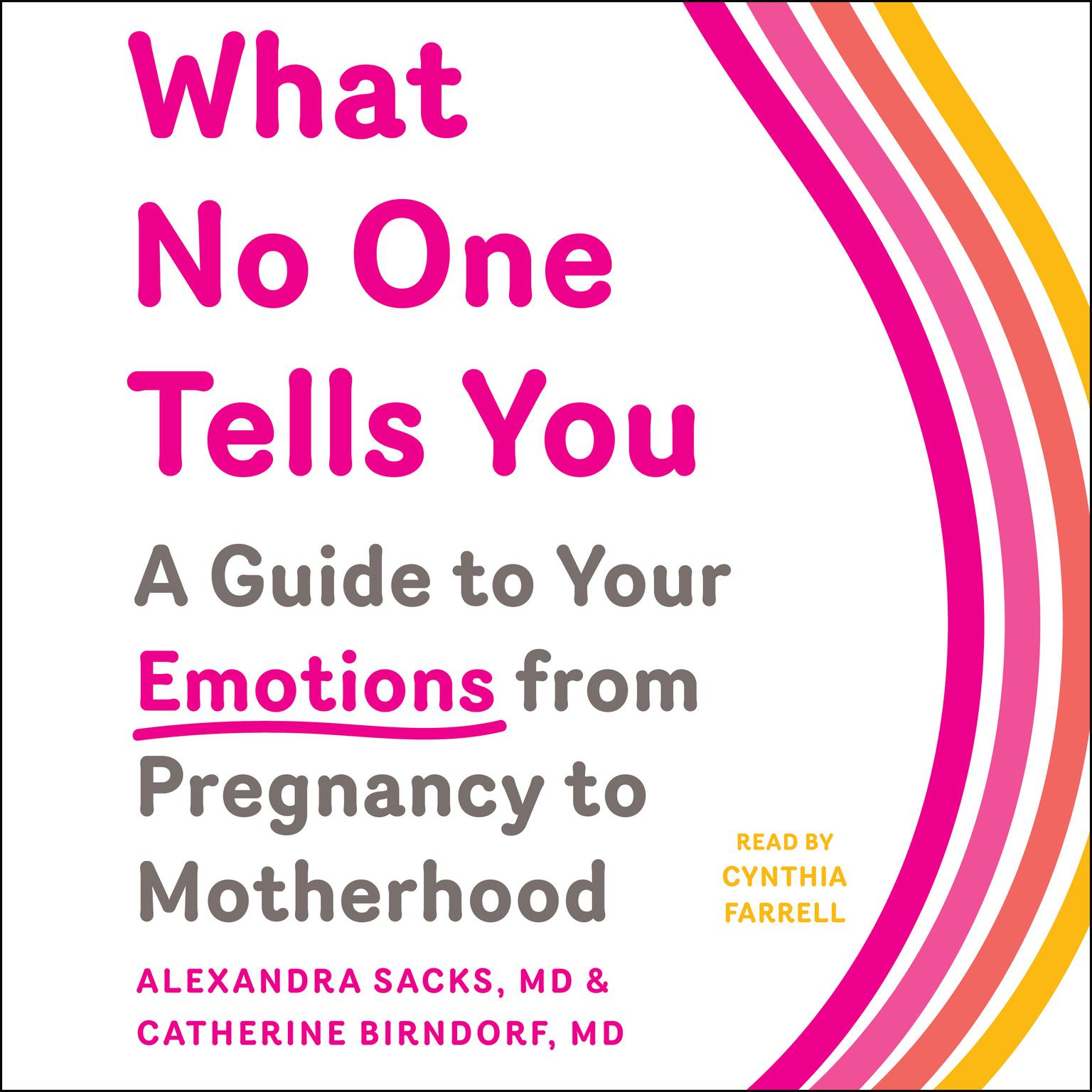 Printable What No One Tells You: A Guide to Your Emotions from Pregnancy to Motherhood Audiobook Cover Art
