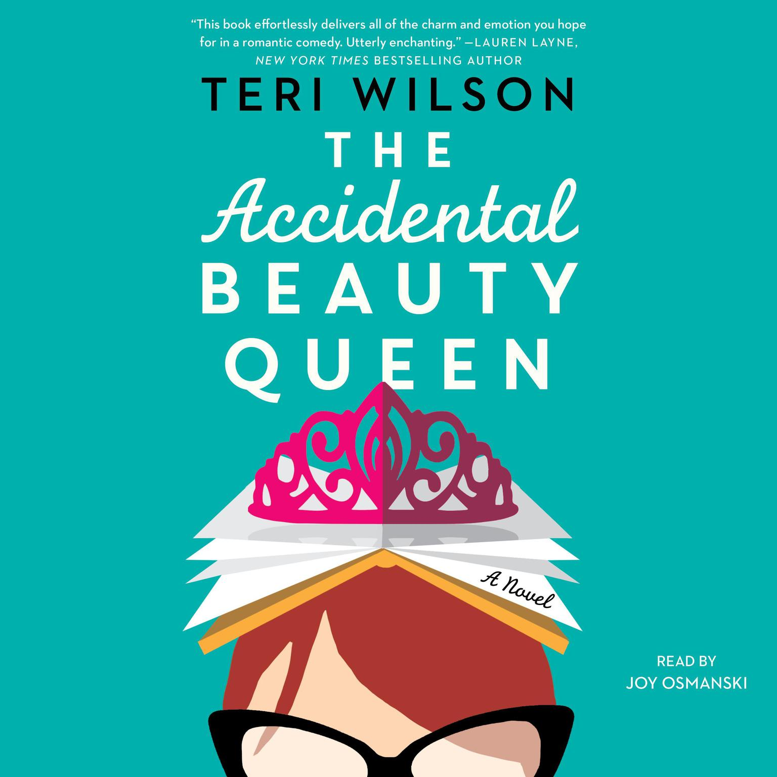 Printable The Accidental Beauty Queen Audiobook Cover Art
