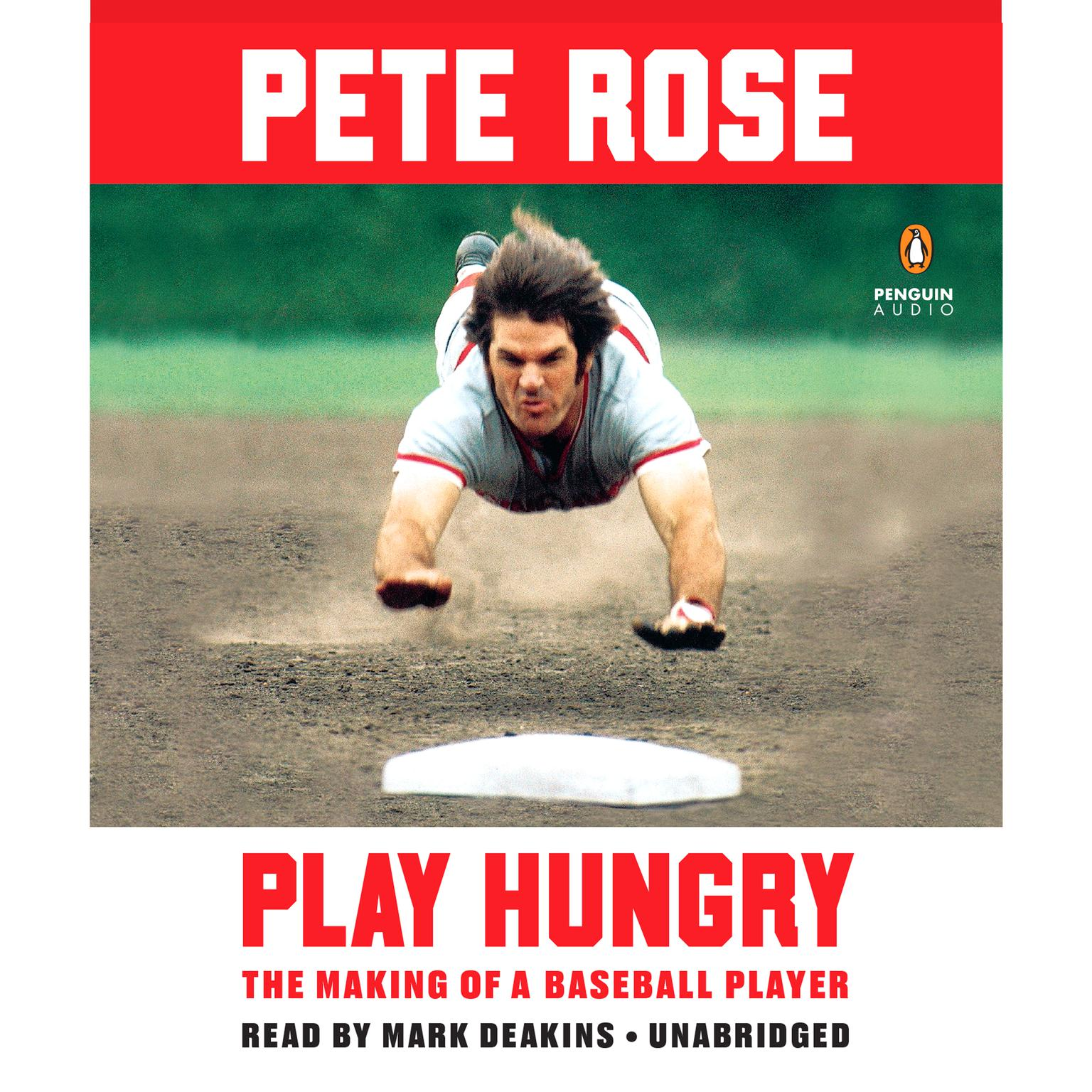 Printable Play Hungry: The Making of a Baseball Player Audiobook Cover Art