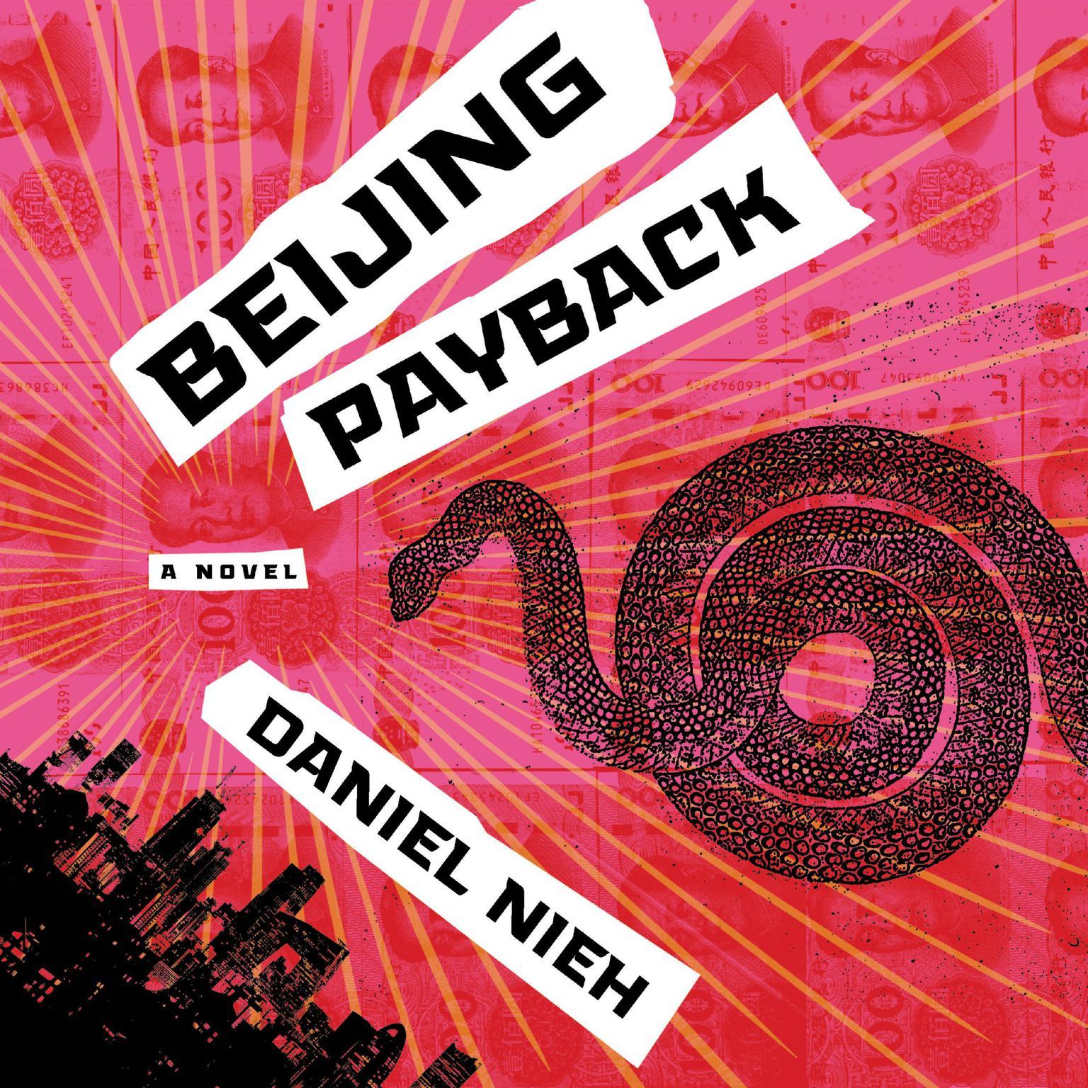 Printable Beijing Payback: A Novel Audiobook Cover Art