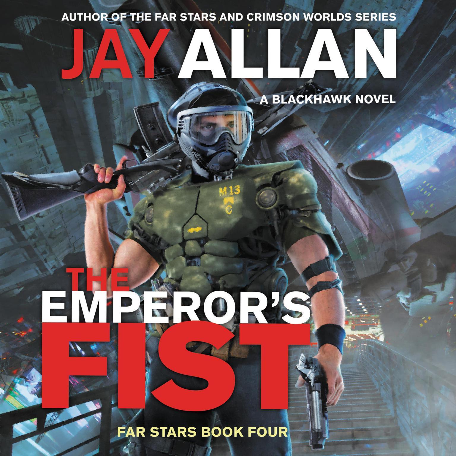Printable The Emperor's Fist: A Blackhawk Novel Audiobook Cover Art