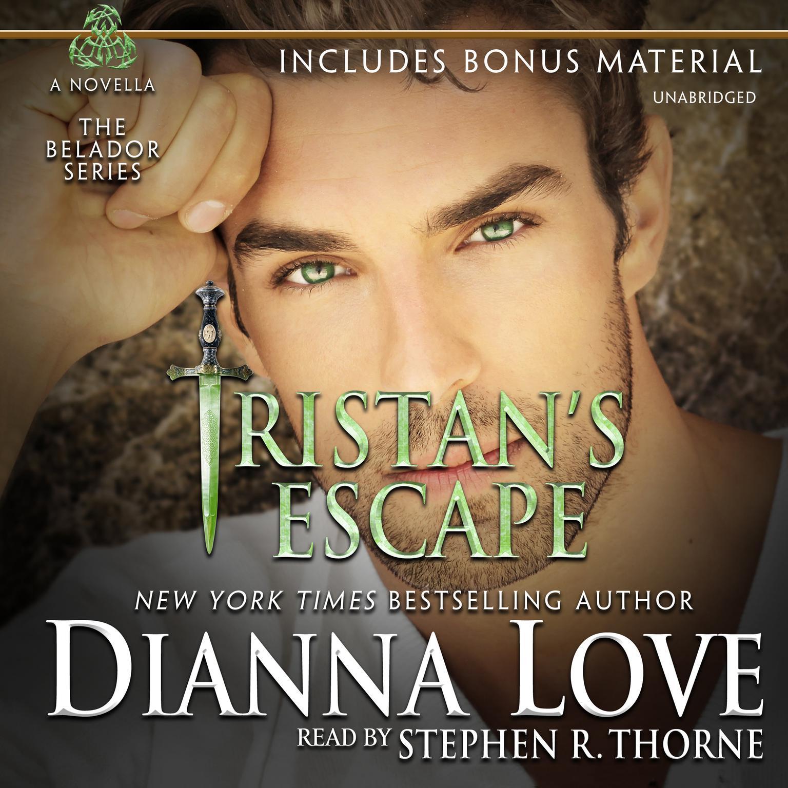 Printable Tristan's Escape Audiobook Cover Art