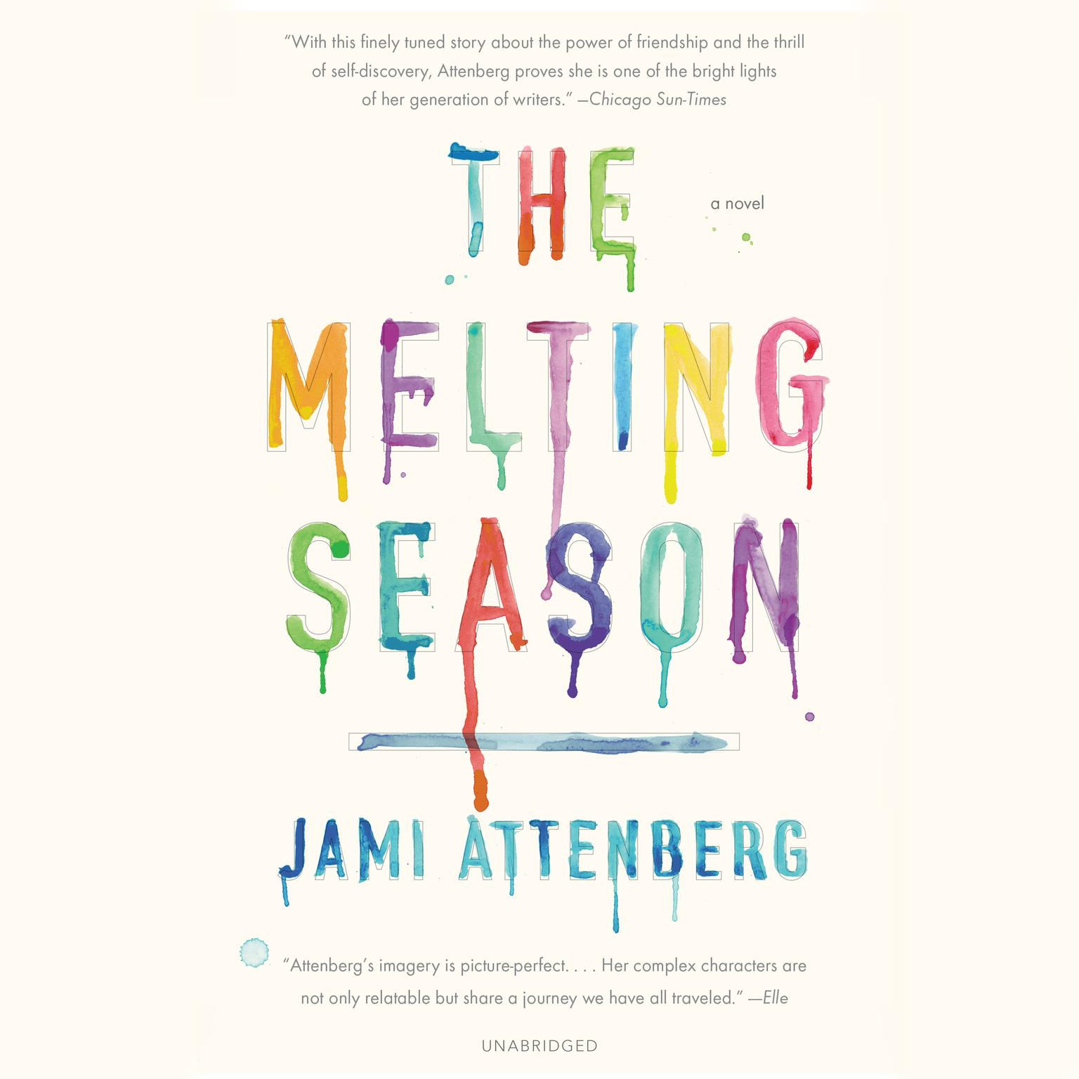 Printable The Melting Season Audiobook Cover Art