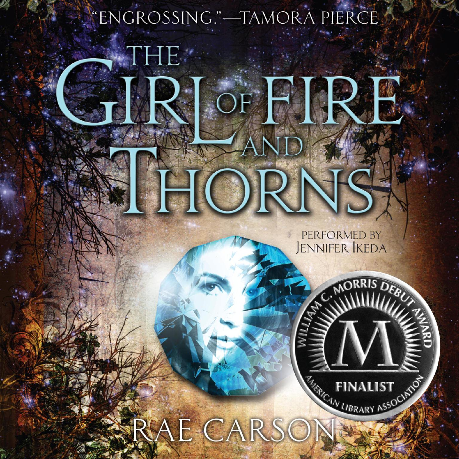Printable The Girl of Fire and Thorns Audiobook Cover Art