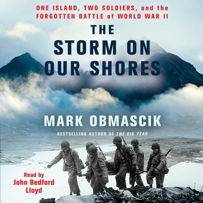 In the Cradle of Storms: One Island, Two Soldiers, and the Forgotten Battle of World War II Audiobook, by Mark Obmascik
