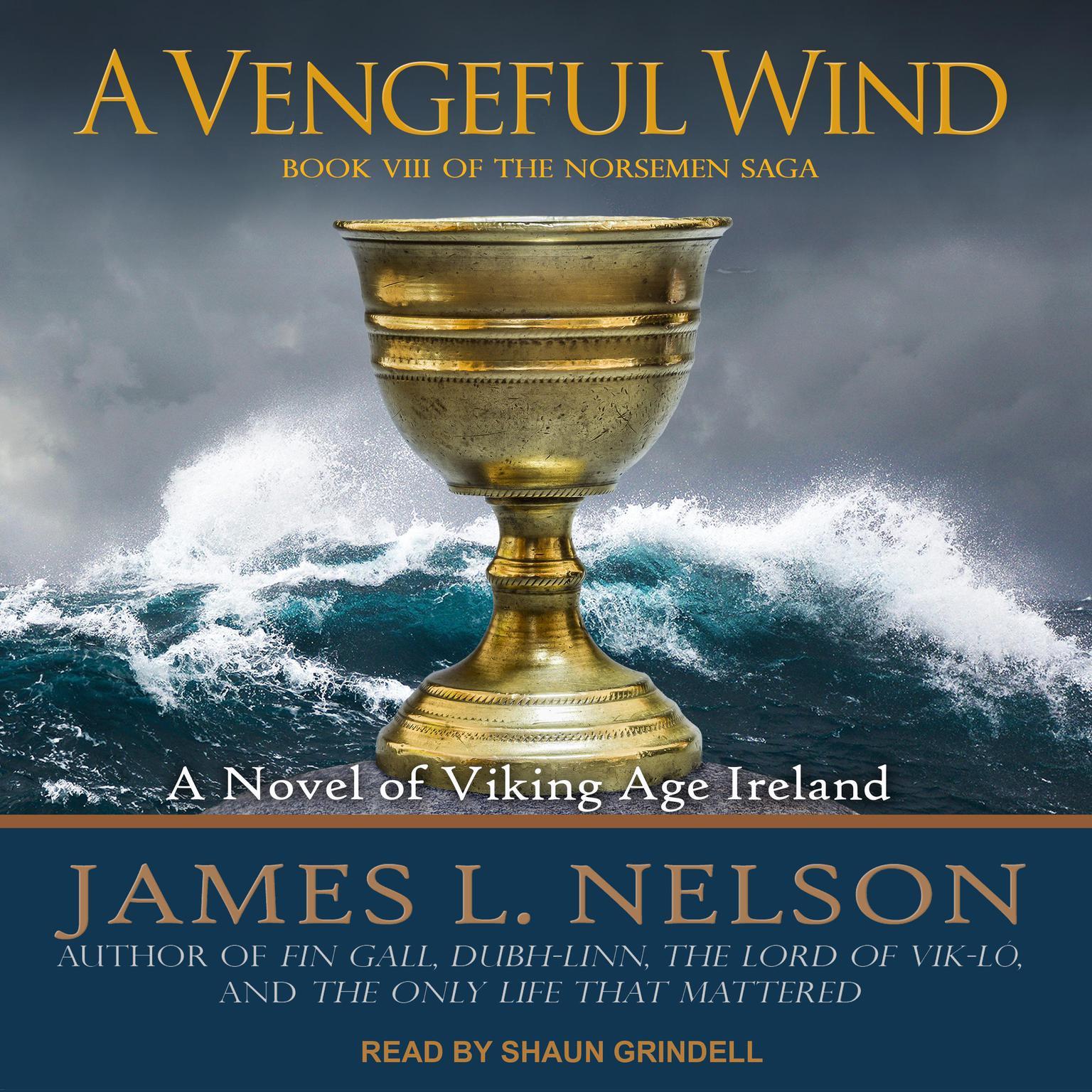Printable A Vengeful Wind: A Novel of Viking Age Ireland Audiobook Cover Art
