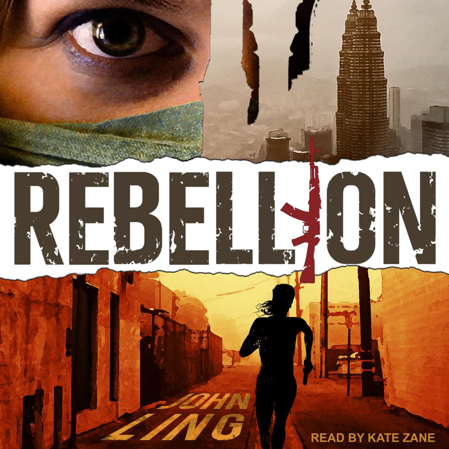 Printable Rebellion: A Raines and Shaw Thriller Audiobook Cover Art
