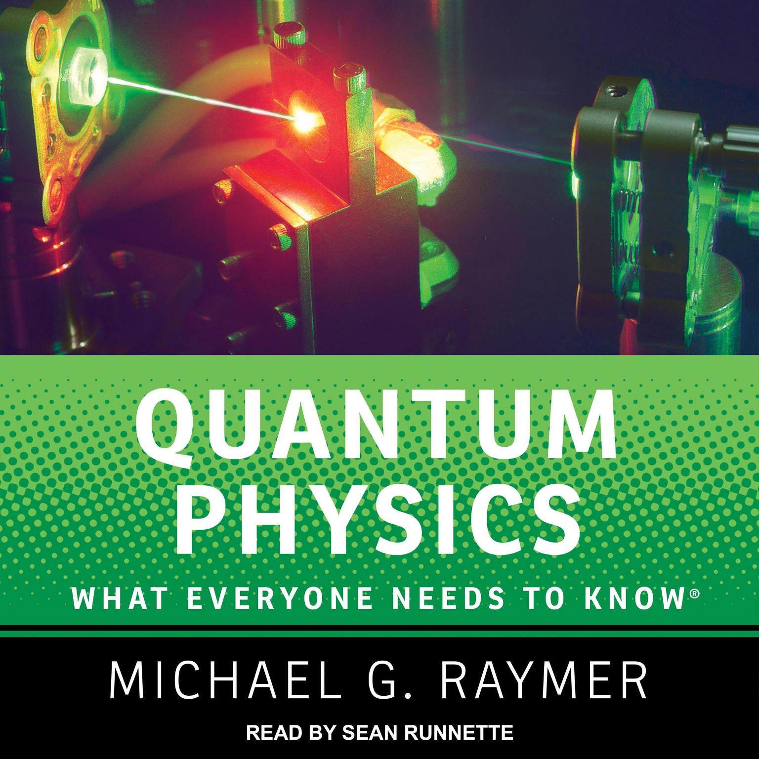Printable Quantum Physics: What Everyone Needs to Know Audiobook Cover Art