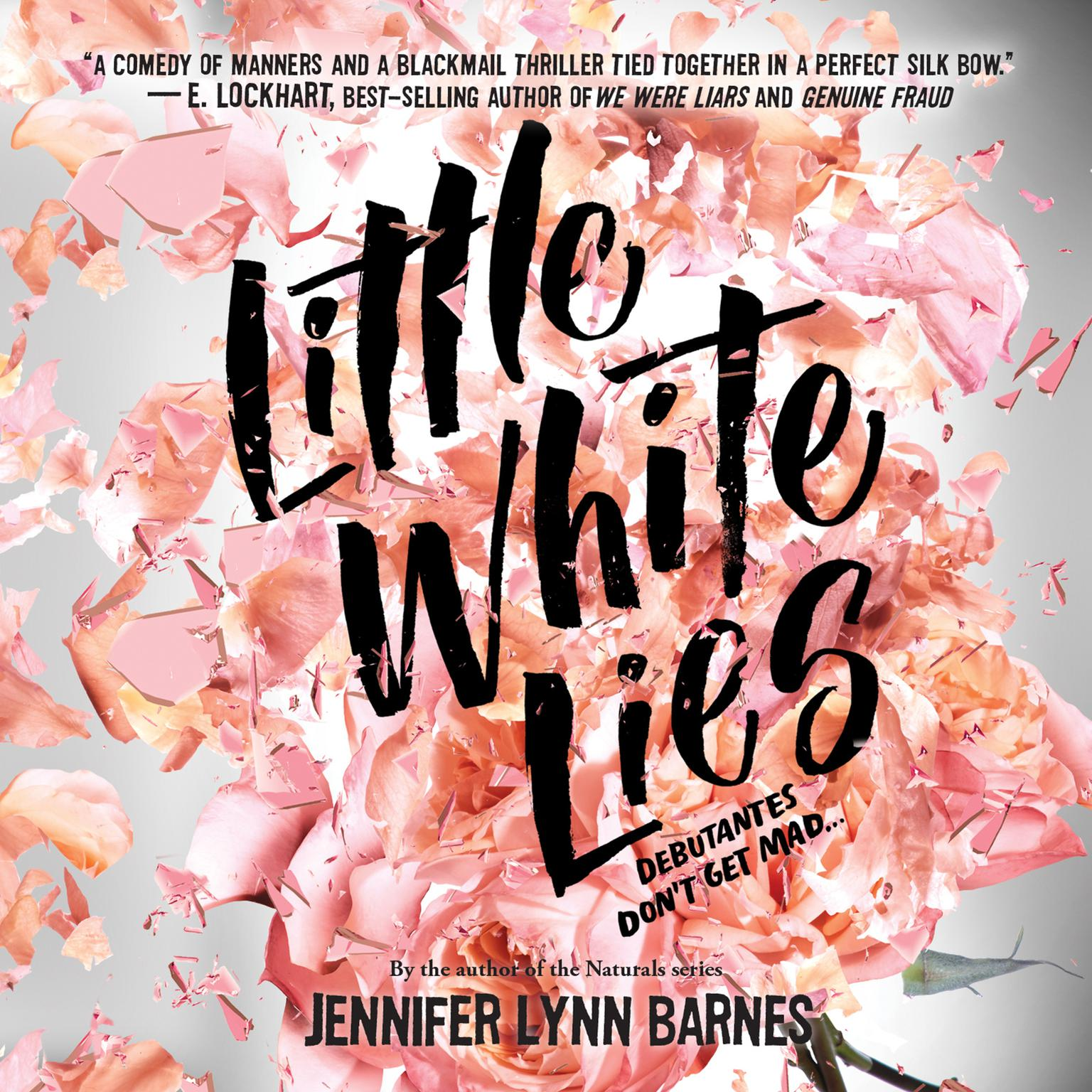 Printable Little White Lies Audiobook Cover Art