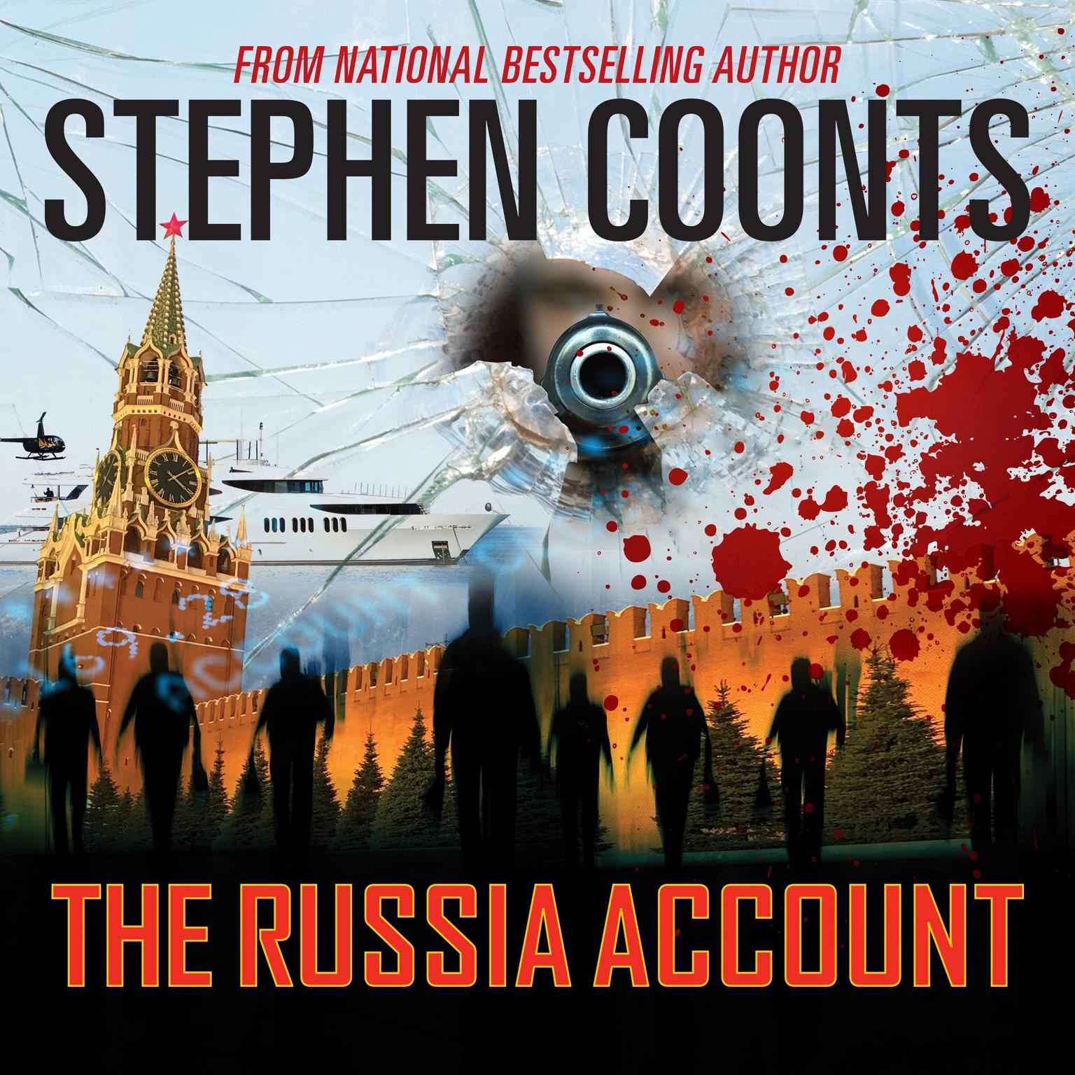 Printable The Russia Account Audiobook Cover Art
