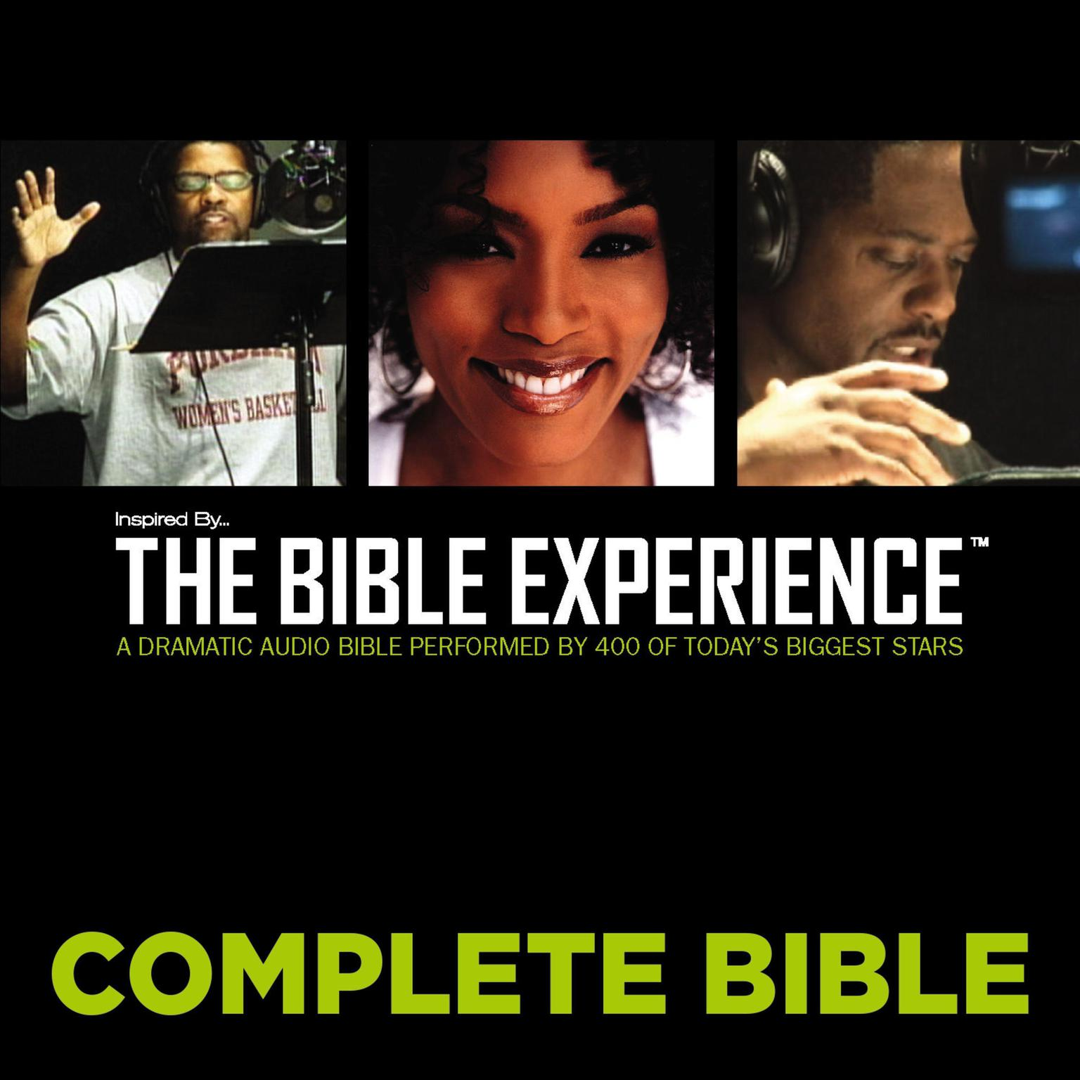 Printable Inspired By … The Bible Experience Audio Bible - Today's New International Version, TNIV: Complete Bible Audiobook Cover Art