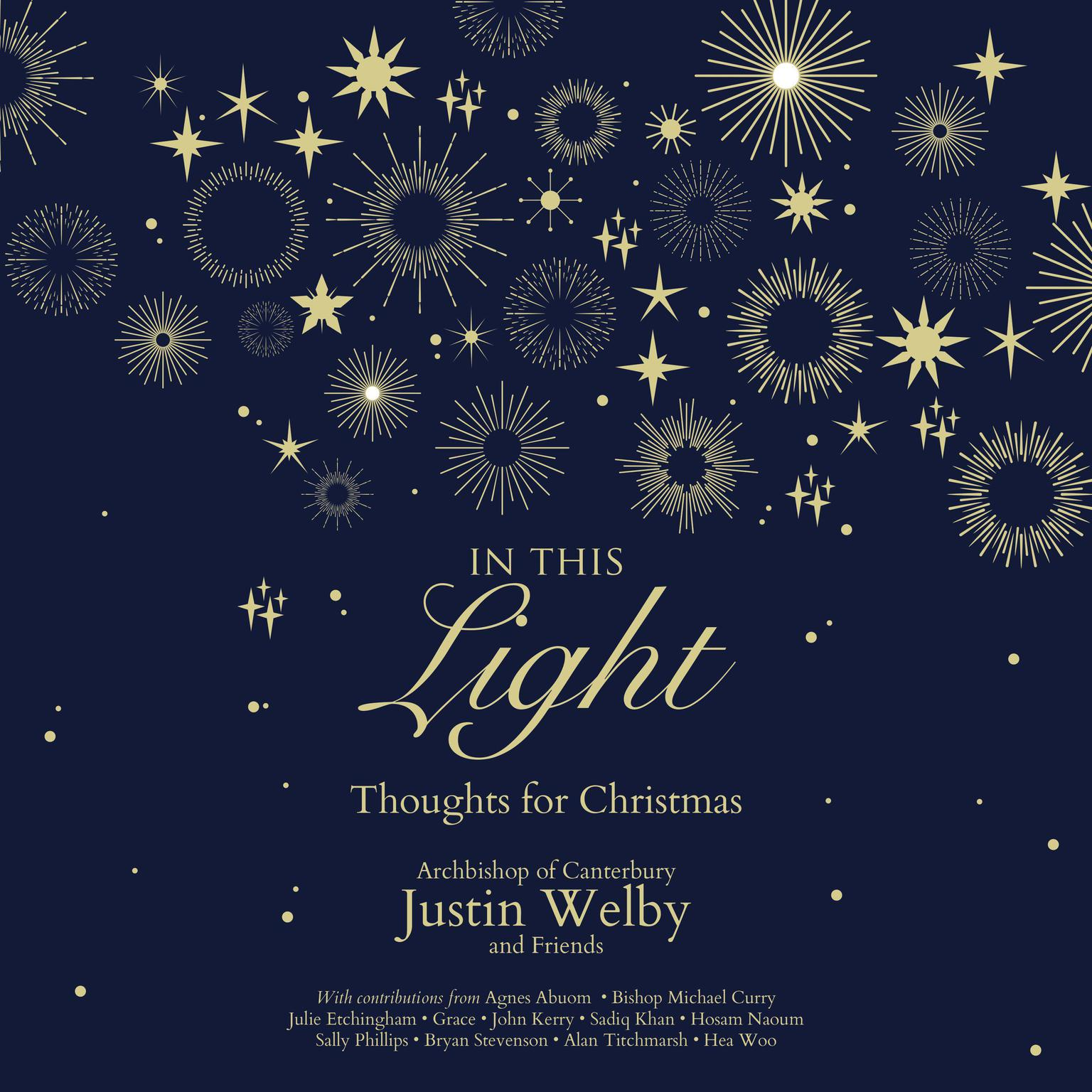 Printable In This Light: Thoughts for Christmas Audiobook Cover Art