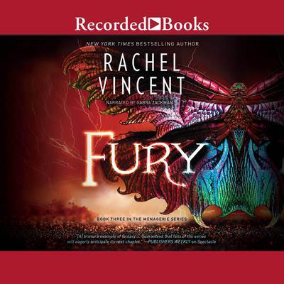 Fury Audiobook, by Rachel Vincent