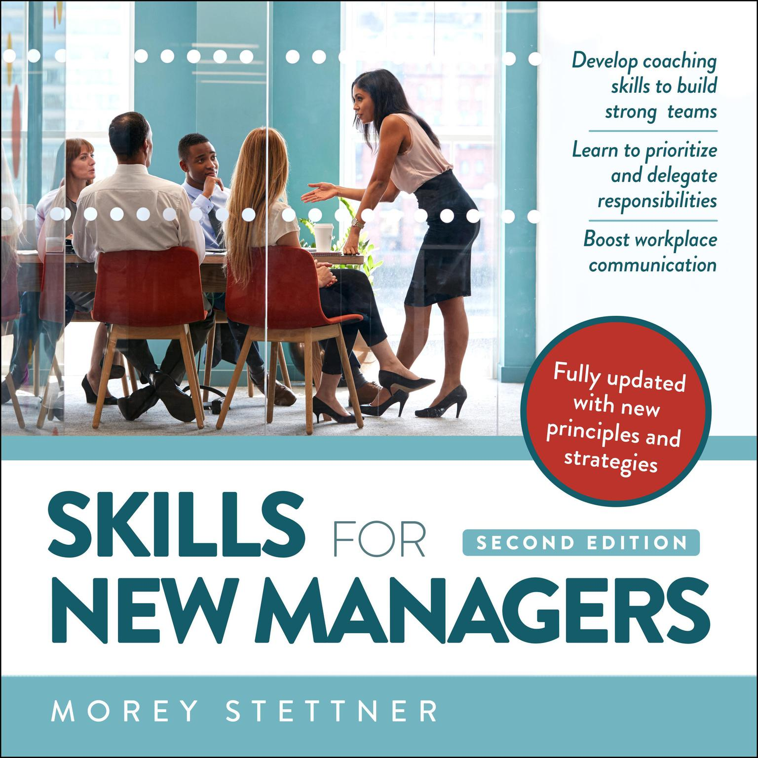 Printable Skills for New Managers Audiobook Cover Art