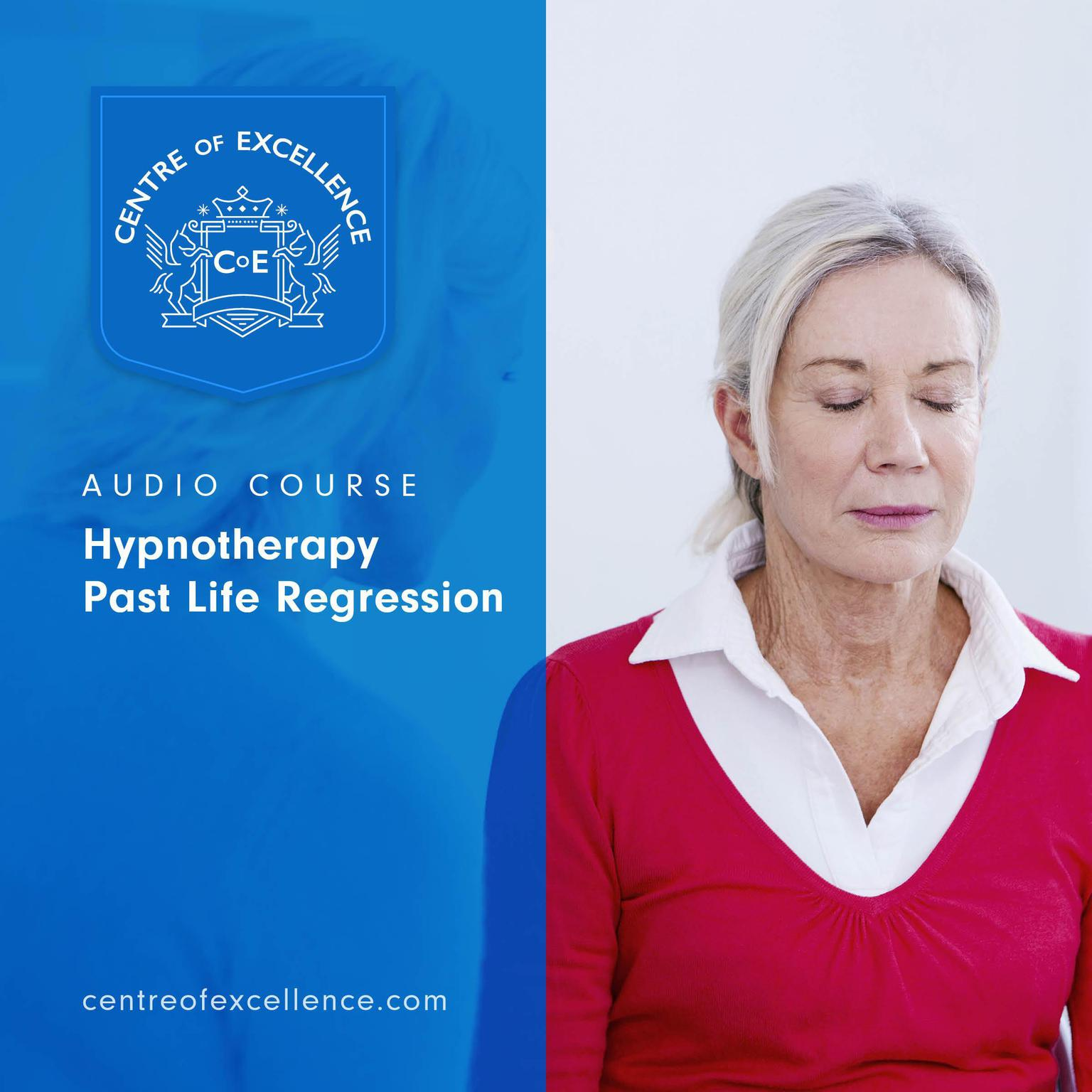 Printable Hypnotherapy Past Life Regression Audiobook Cover Art