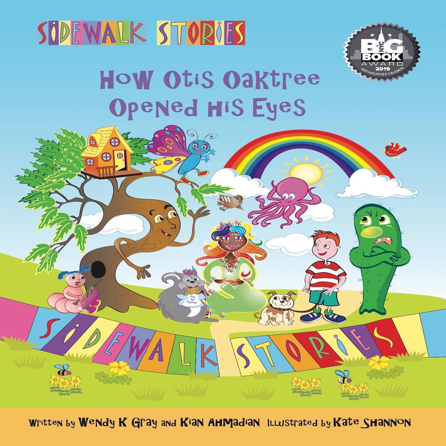 Printable Sidewalk Stories How Otis Oaktree Opened His Eyes Audiobook Cover Art