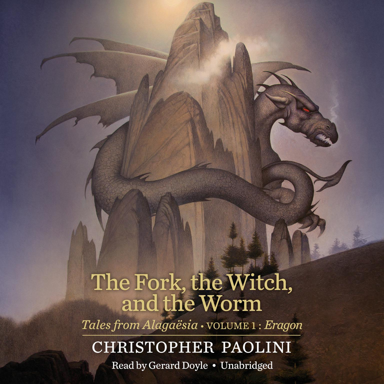 Printable The Fork, the Witch, and the Worm: Tales from Alagaësia (Volume 1: Eragon) Audiobook Cover Art