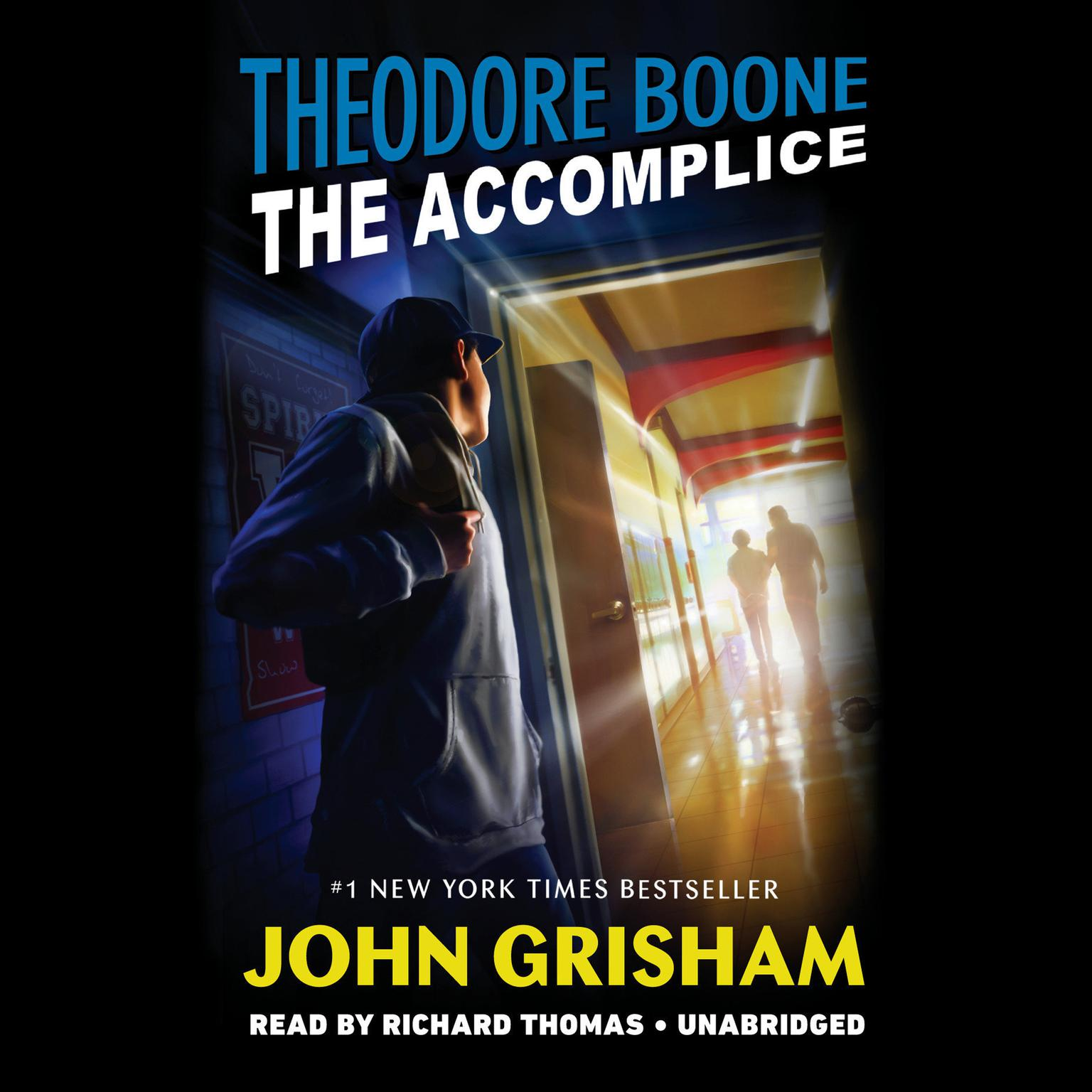 Printable Theodore Boone: The Accomplice Audiobook Cover Art