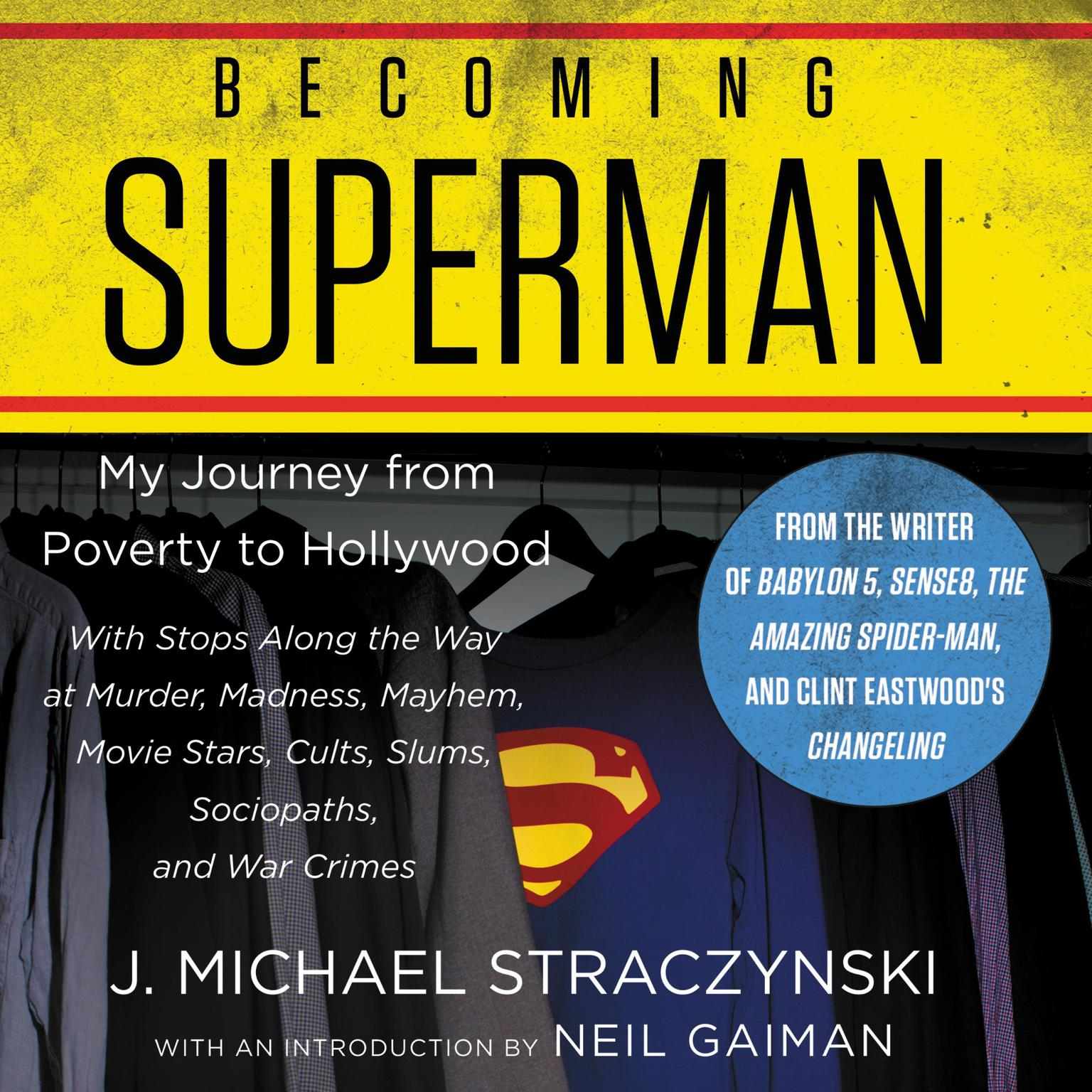 Printable Becoming Superman: My Journey From Poverty to Hollywood Audiobook Cover Art