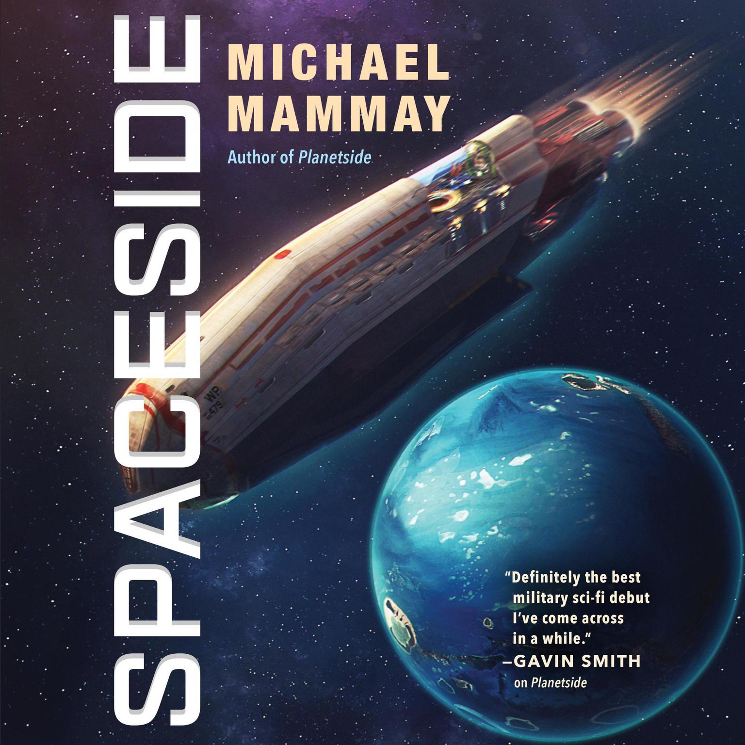 Printable Spaceside Audiobook Cover Art