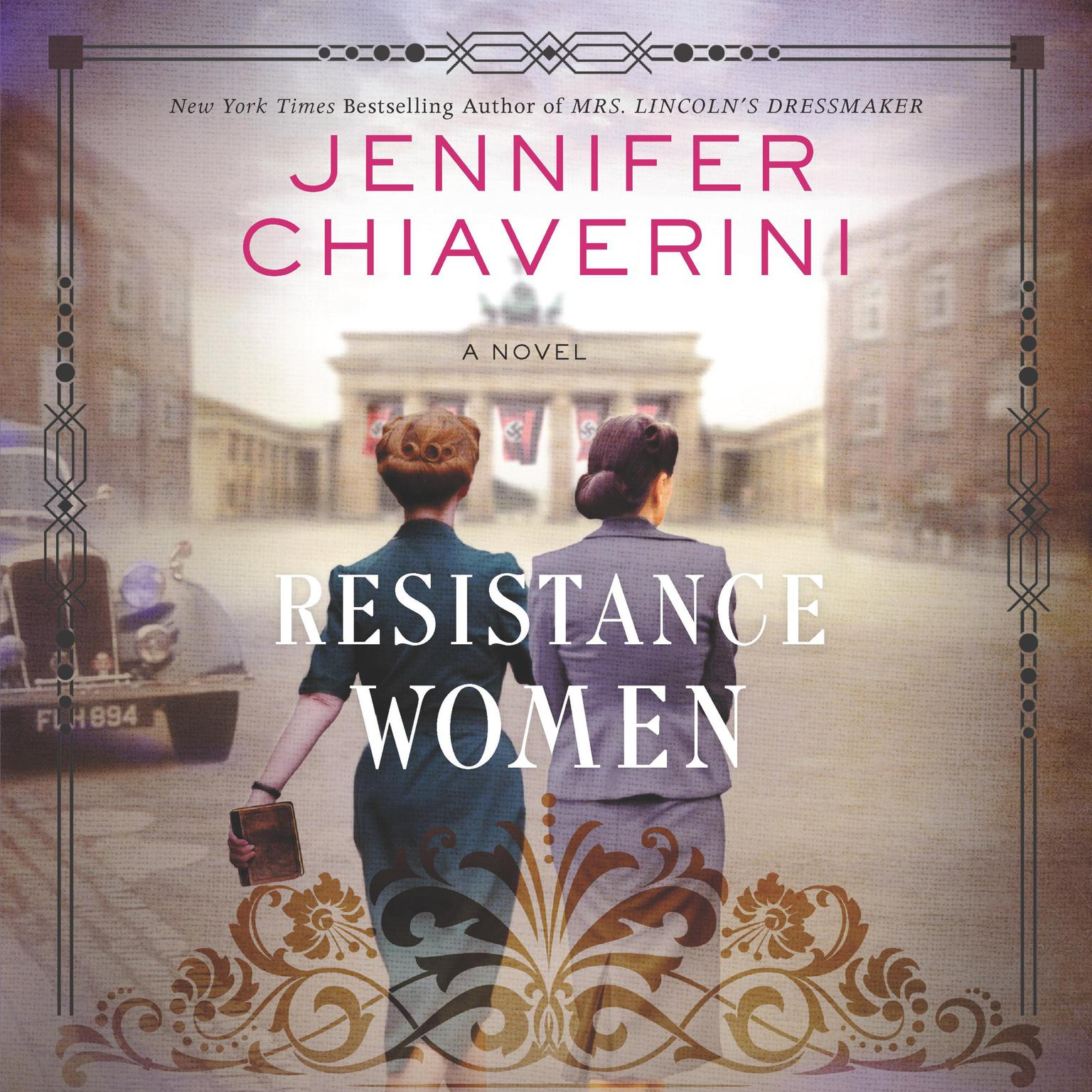 Printable Resistance Women: A Novel Audiobook Cover Art