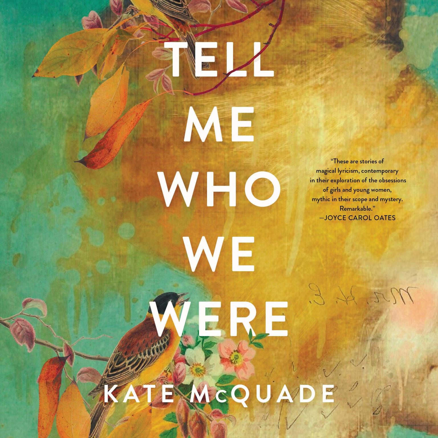 Printable Tell Me Who We Were: Stories Audiobook Cover Art