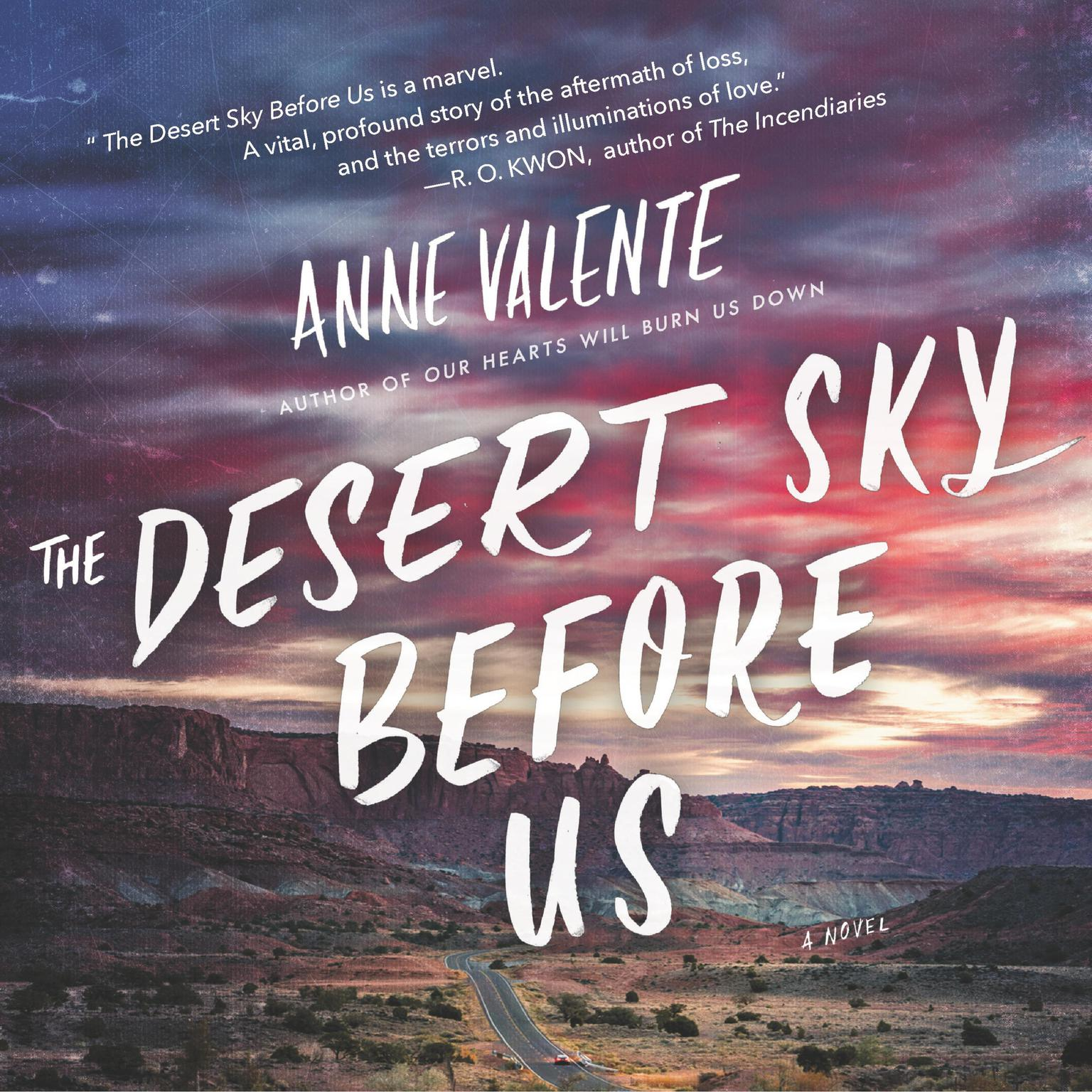 Printable The Desert Sky Before Us: A Novel Audiobook Cover Art