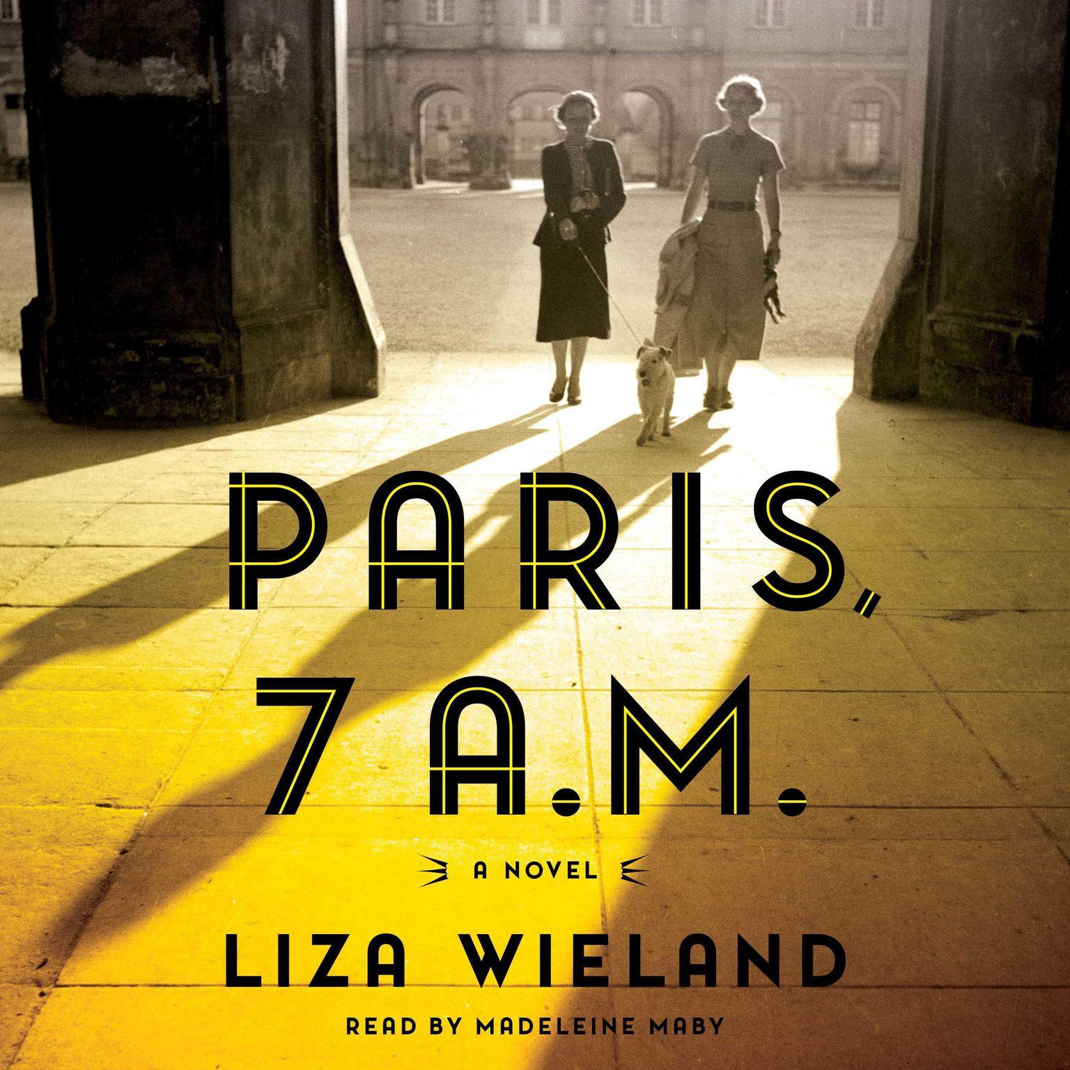 Printable Paris, 7 a.m. Audiobook Cover Art